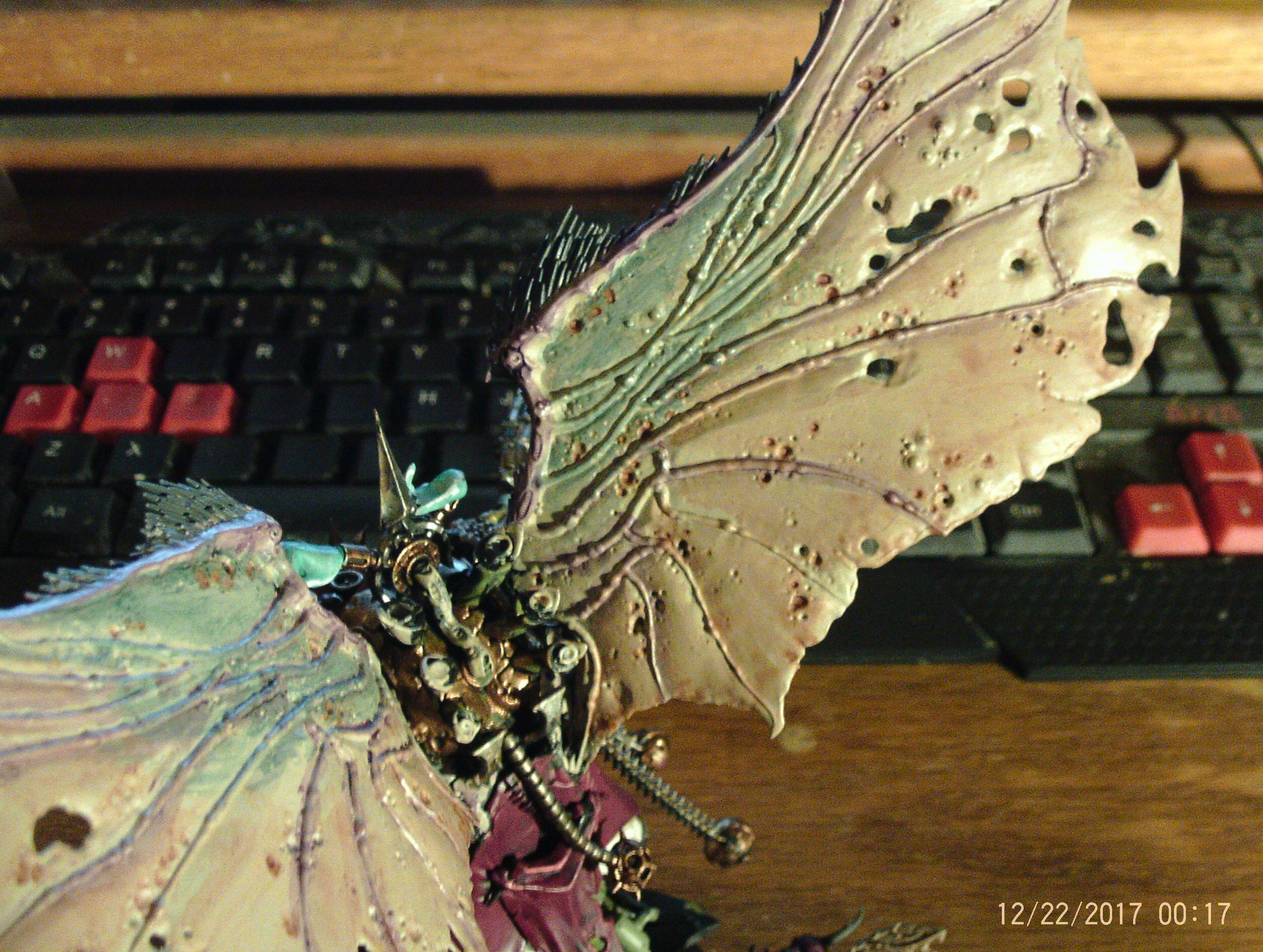 Mortarion WIP 5 back view