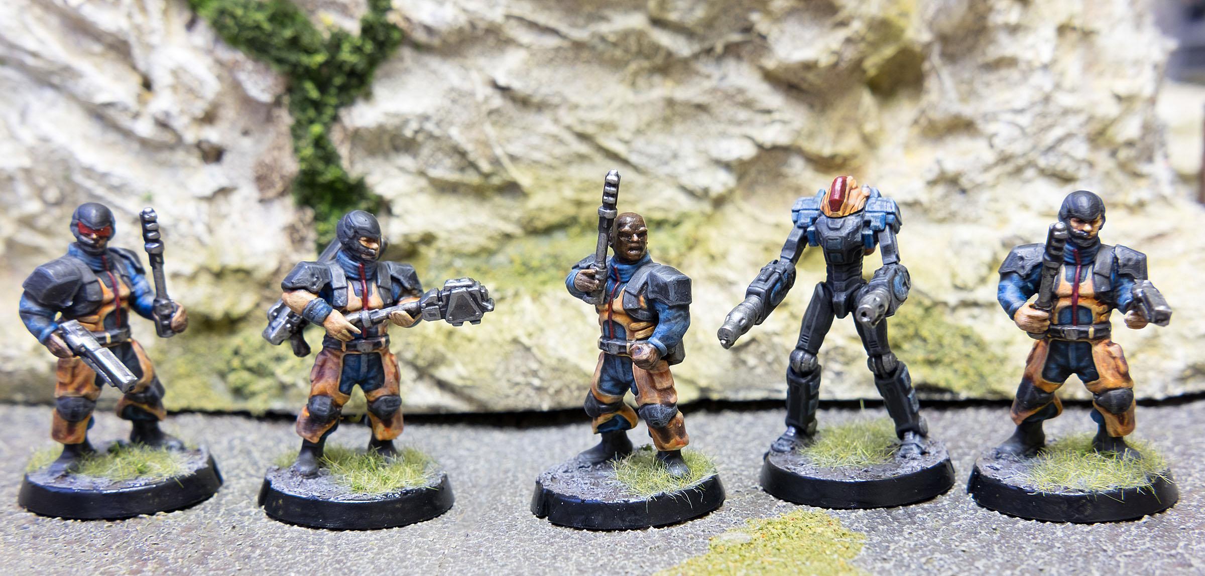 Epirian, Maelstrom's Edge, Shock Baton, Subjugator, Suppression Team