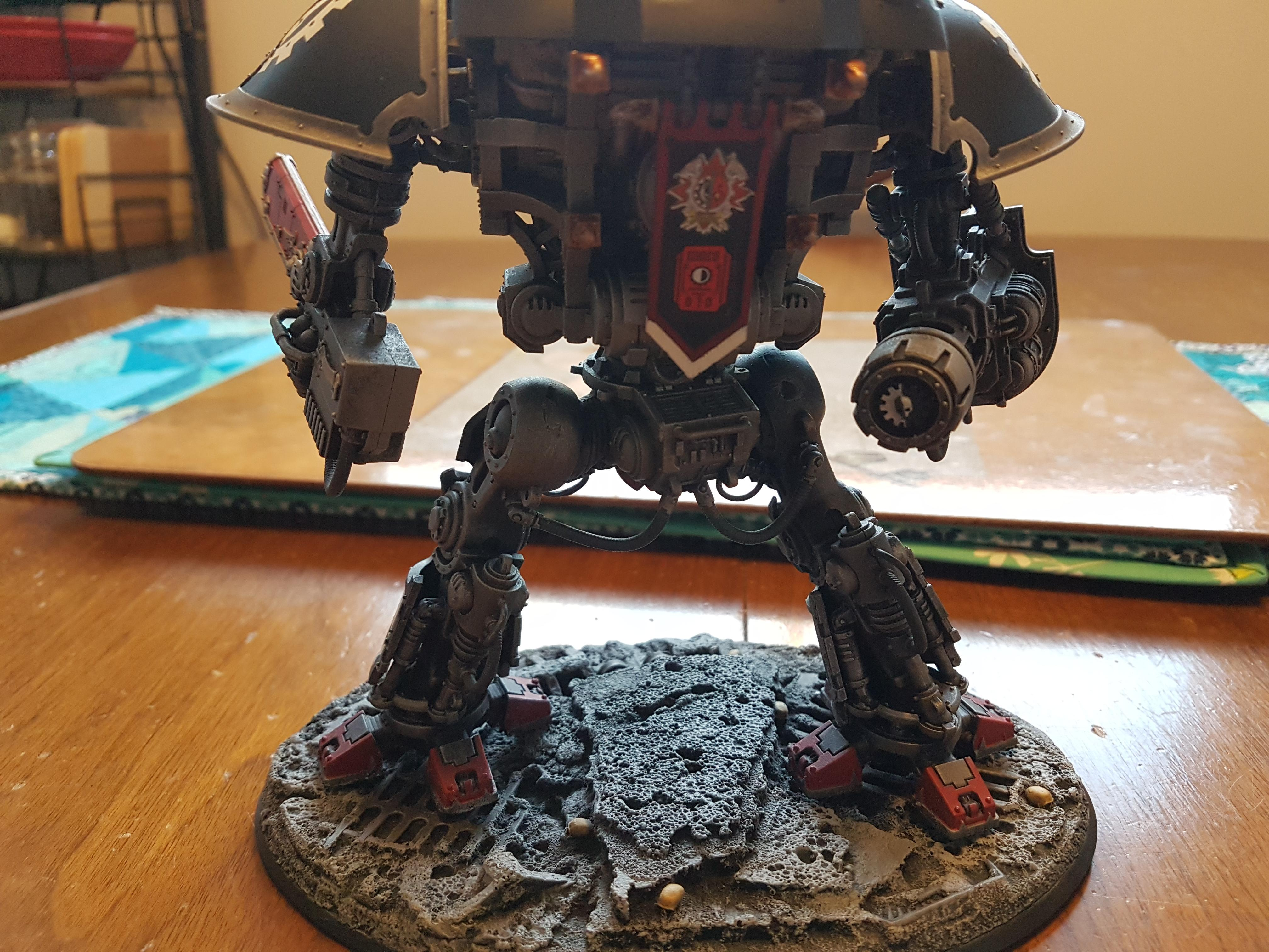 Errant, Heavy Stubber, Imperial, Imperial Knight, Imperial Knight Errant, Knight Errant, Knights, Reaper Chainsword, Stormspear Rocket Pod, Thermal Cannon