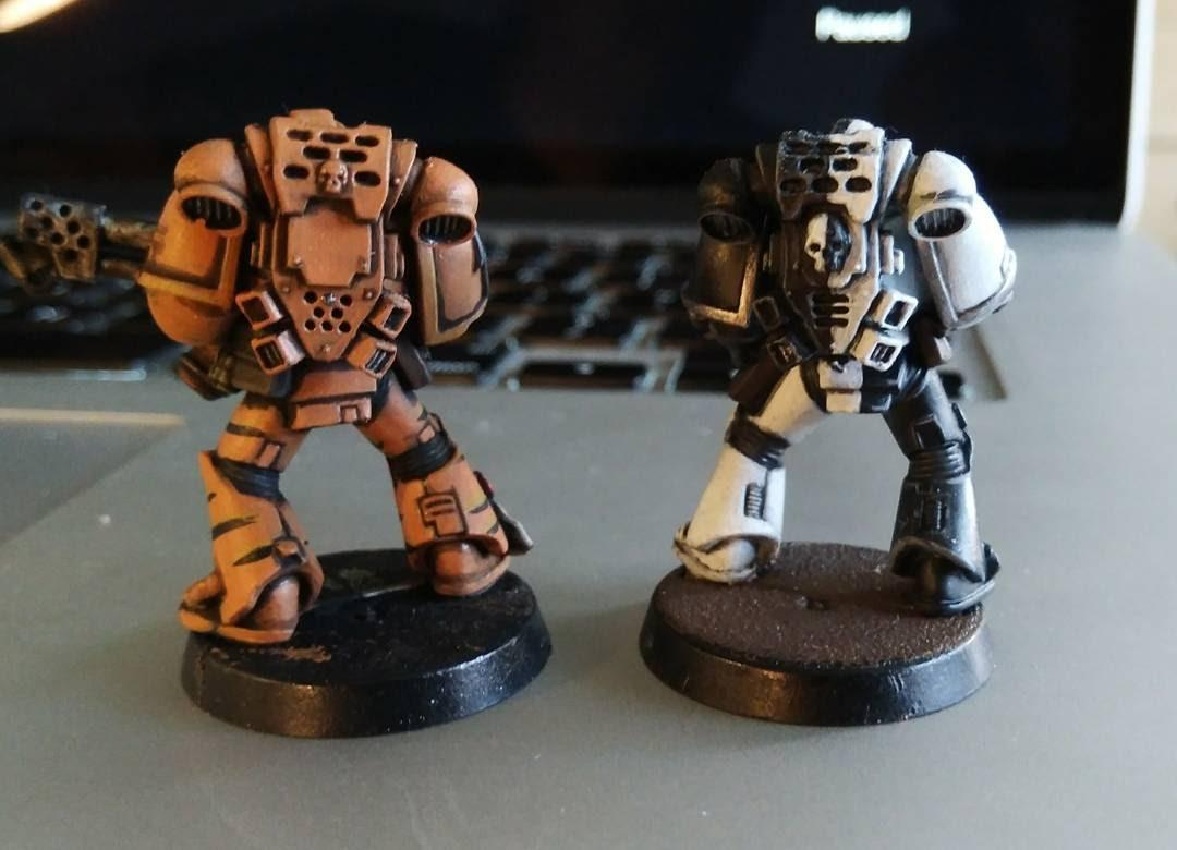 Sons Of Malice, Space Marines, Tactical Squad, Tiger Claws, Tiger Stripes