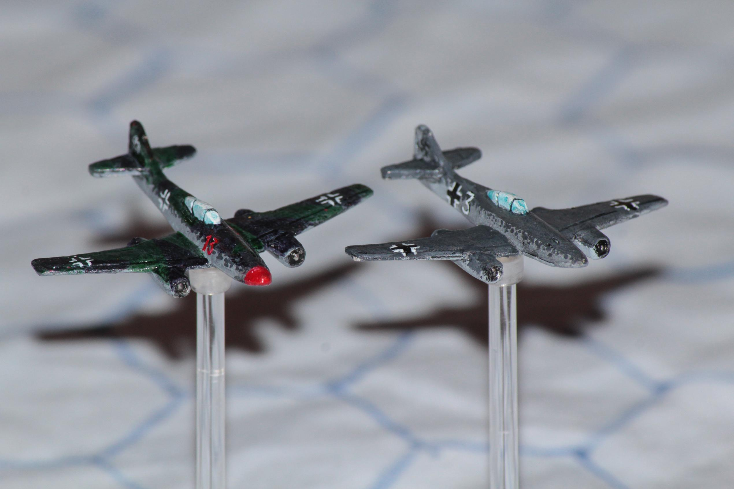 1:300, 1:300 Scale, 6mm, 6mm Scale, Air Combat, Early Jet, Finland, French, Germans, Imperial Japan, Italian, Jet Fighter, Luftwaffe, Me-252, Me-262, Raf, Republic Of China, Soviet, Usaaf, World War 2
