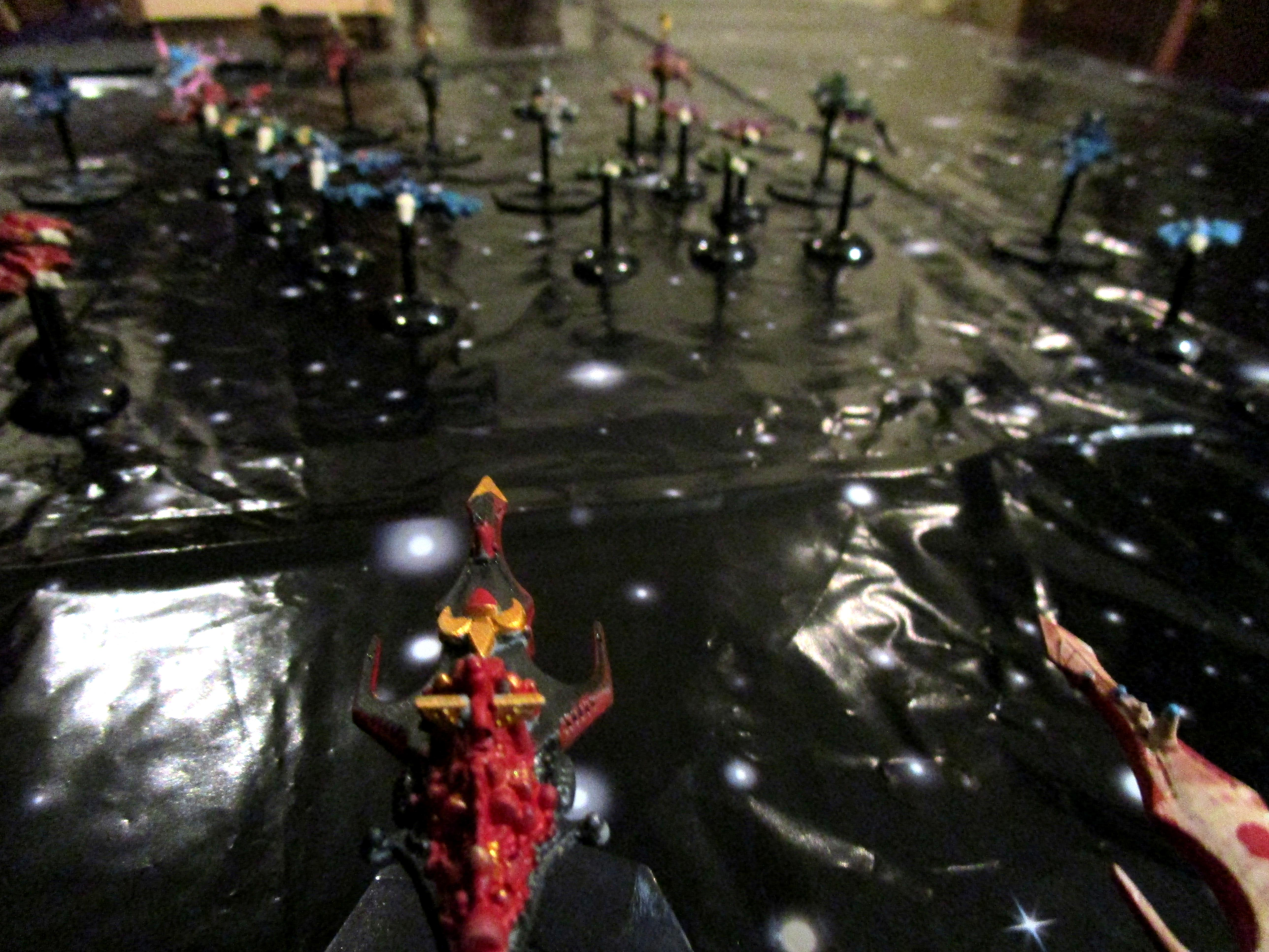 Battlefleet Gothic, Chaos, Chaos Space Marines, Conversion, Oldhammer, Space Fleet