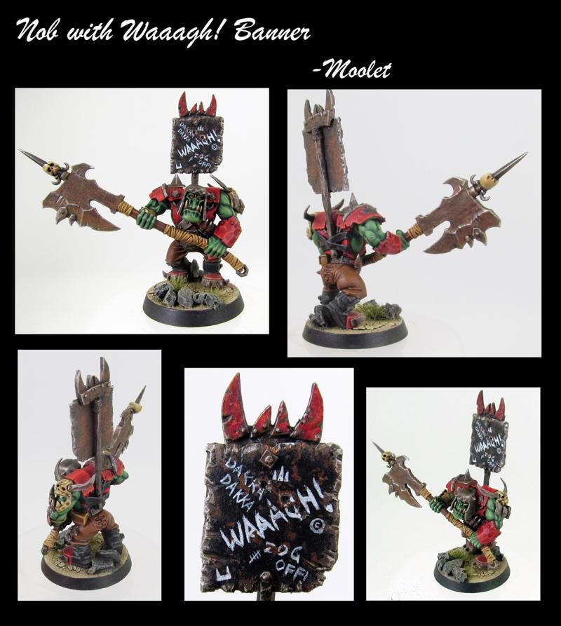 Nob, Orcs, Warhammer Fantasy