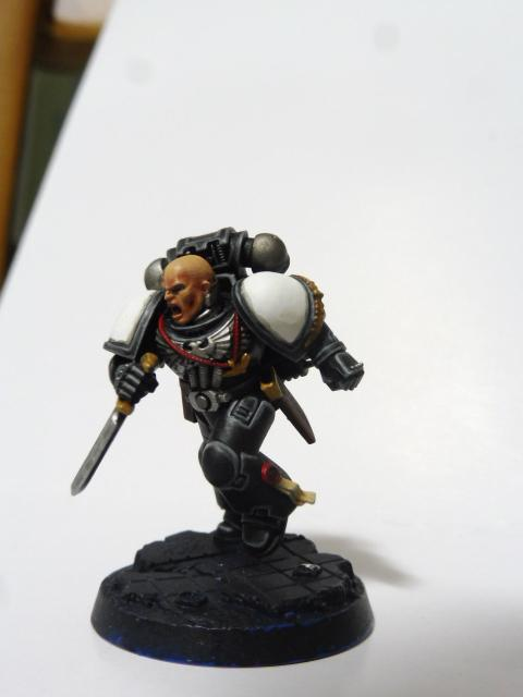 Assault, Black, Black Templars, Blanche, Chainsword, Conversion, Forge World, Imperium, Japan Exclusive, Space Marines, Tactical Squad, Templars, Terminator Armor