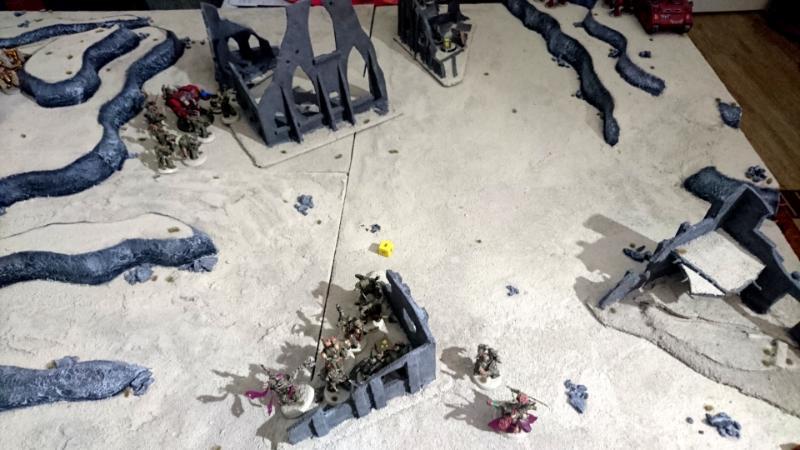 batrep #3, end of DG move