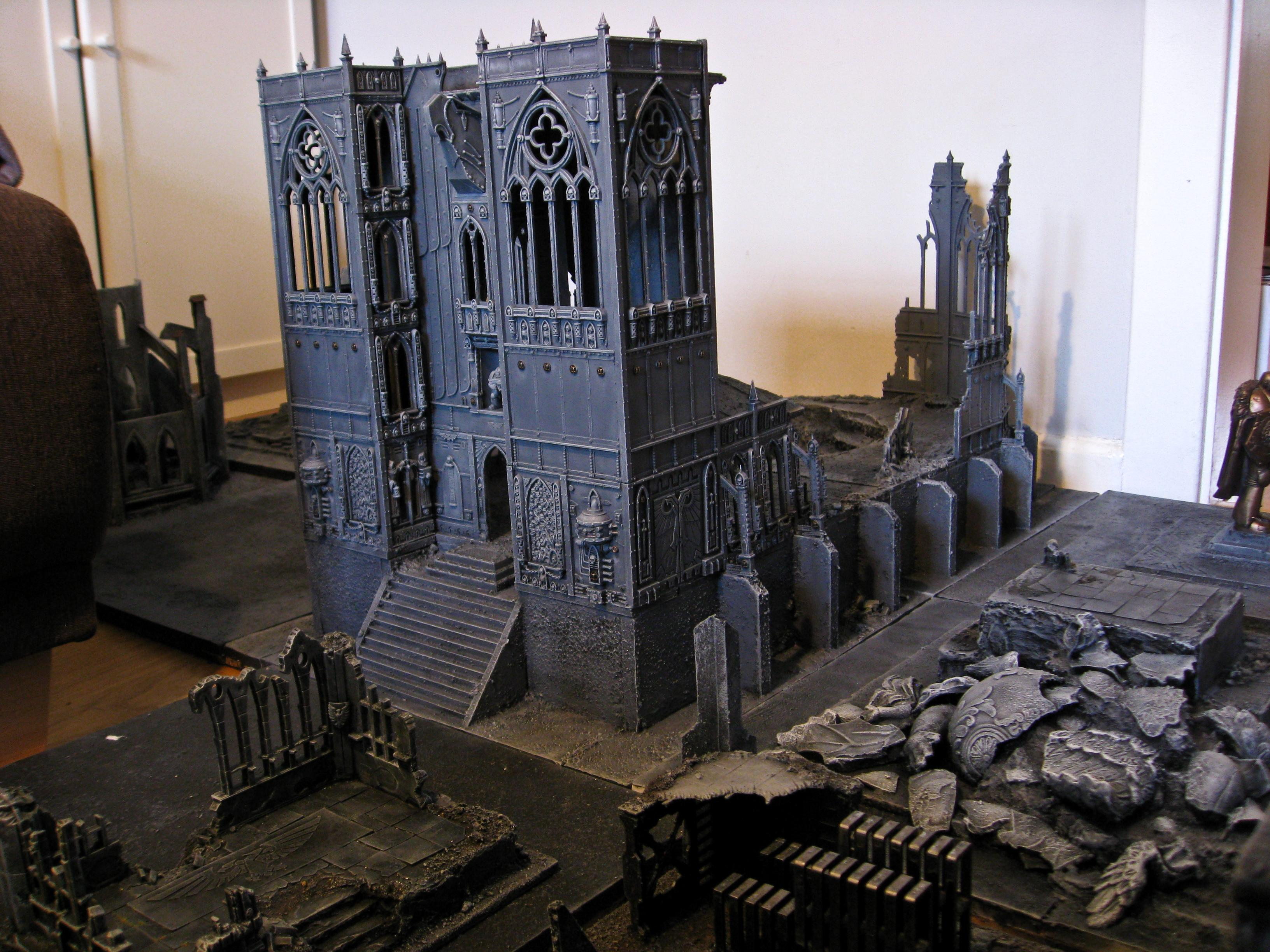 Cathedral, Temple, Terrain, Warhammer 40,000