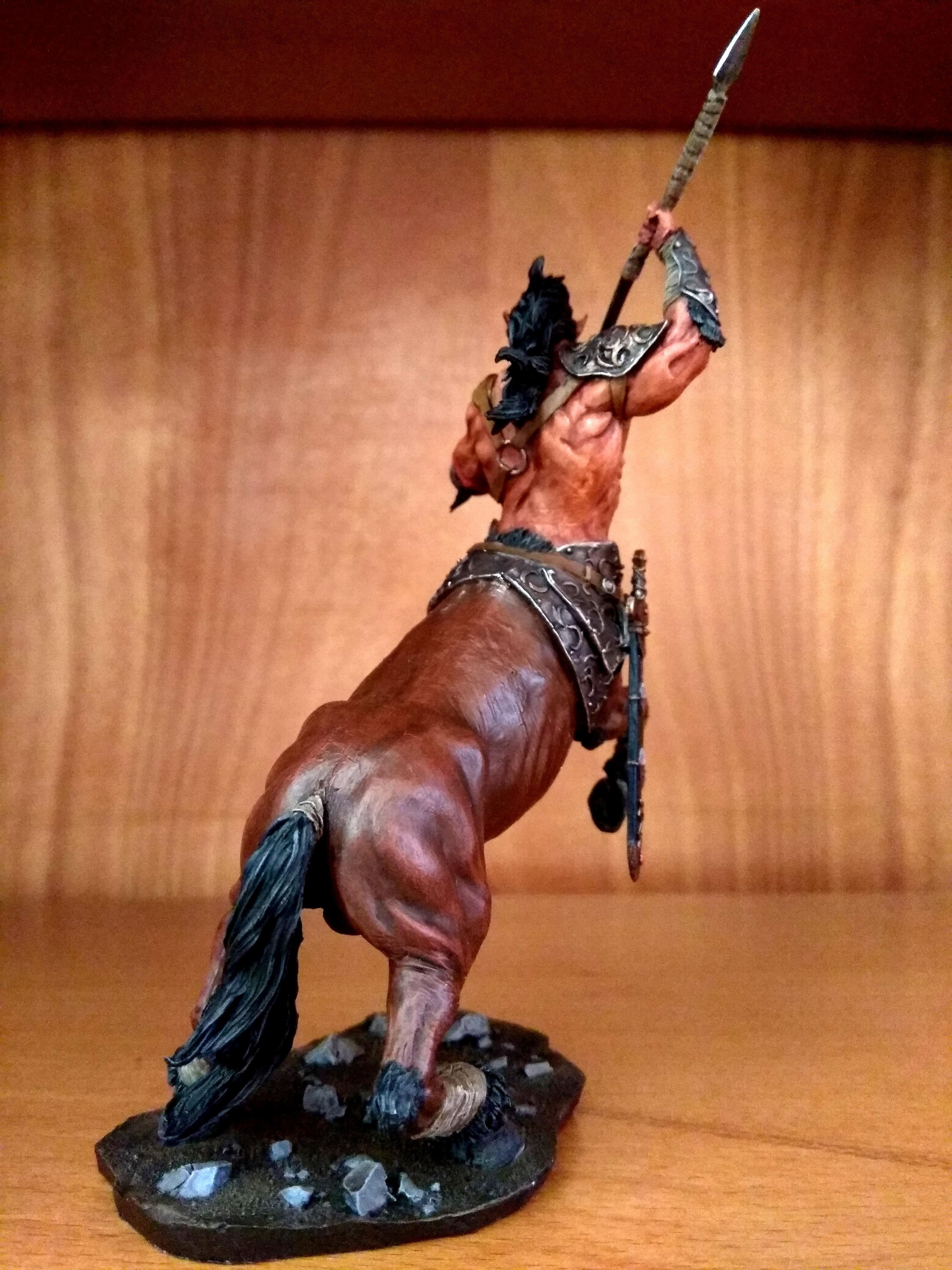 75mm, Black, Centaur, Miniature, Sun