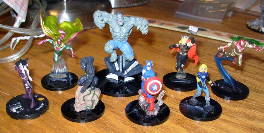 Avengers, Heroclix, Marvel