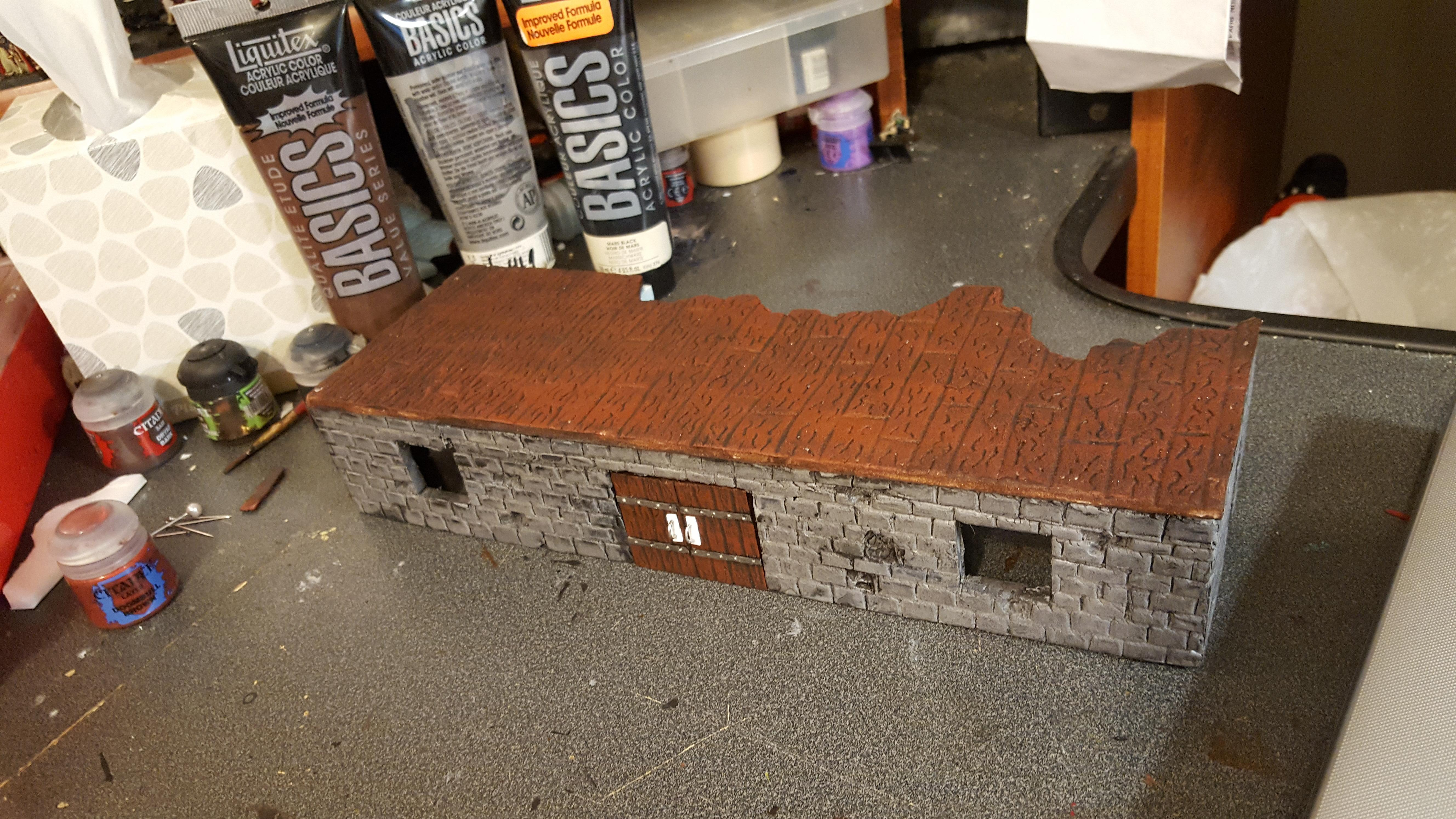 Mordheim, Ruins, Scratch Build