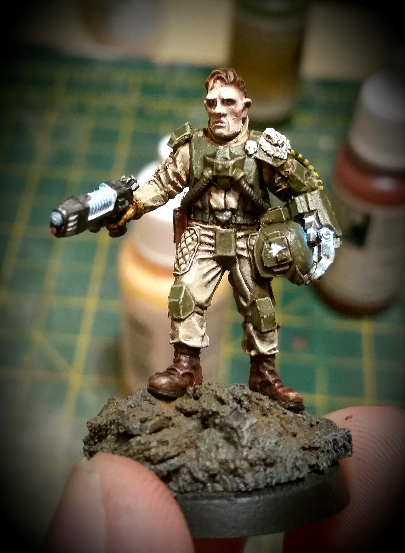 Astra Militarum, Elysian, Imperial Guard