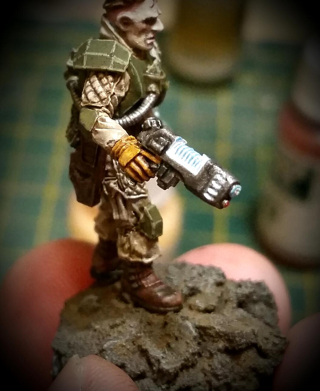 Astra Militarum, Elysian, Imperial Guard, Object Source Lighting