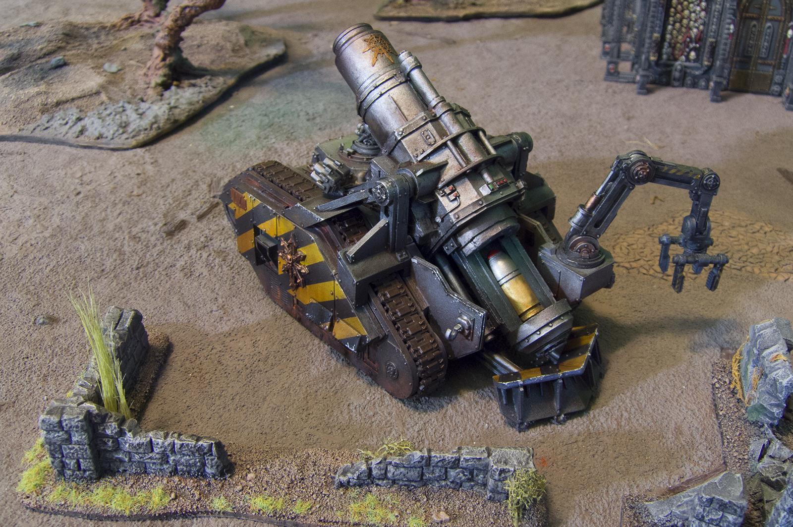 Armor, Artillery, Bombard, Chaos, Iron Warriors, Traitor, Traitor Guard