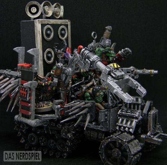 Big Grabba, Conversion, Gorkamorka, Gubbinz, Orks, Shoutas, Trakk, Warhammer 40,000