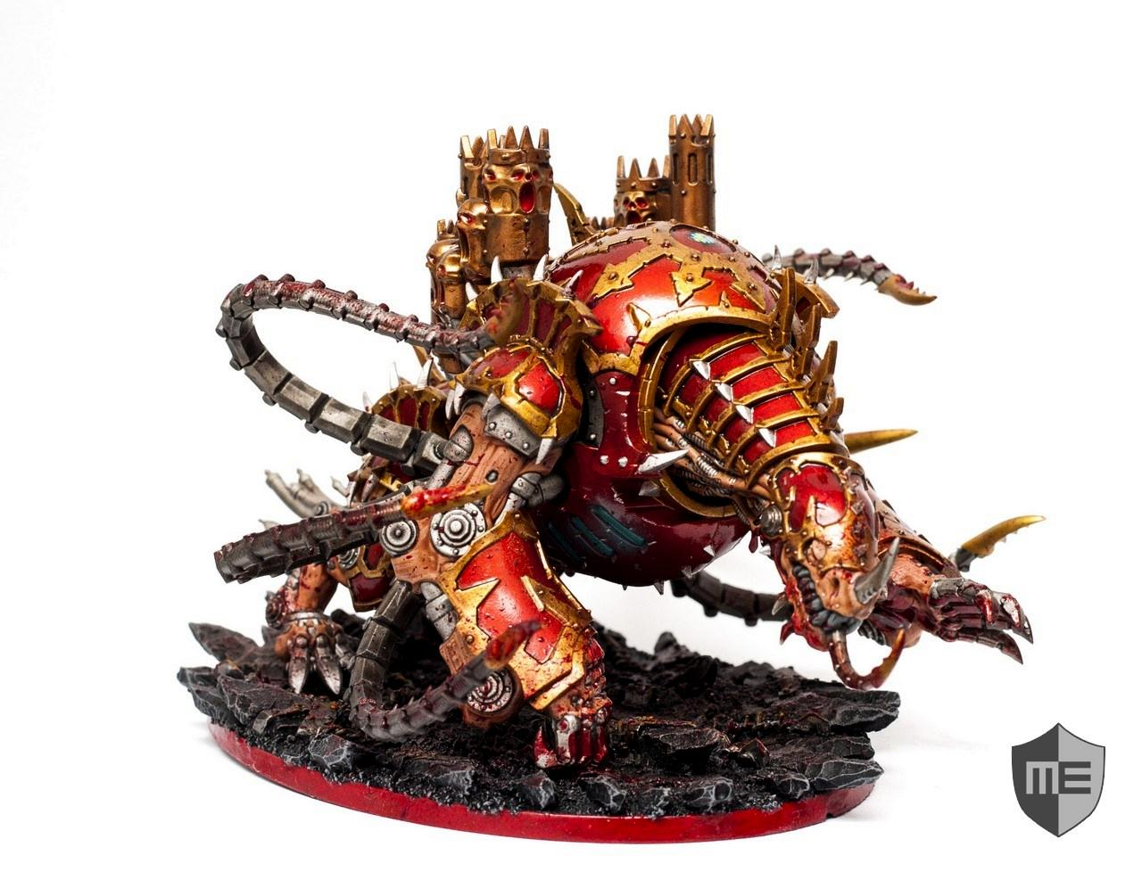 Chaos, Chaos Space Marines, Khorne, Maulerfiend, Warhammer 40,000