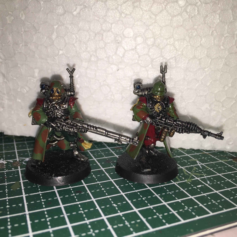 Skitari ranger and rad-trooper