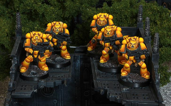 Hendarion, Imperial Fists, Space Marines