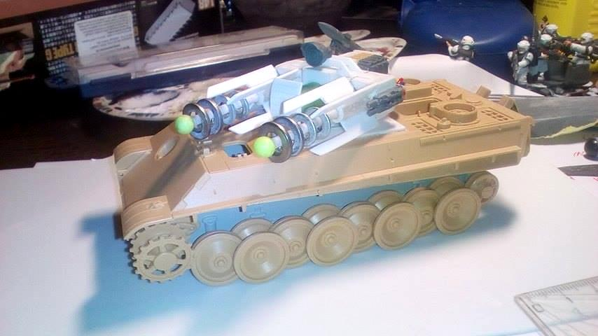 Cinversion, Imperial Guard, Tesla Tank