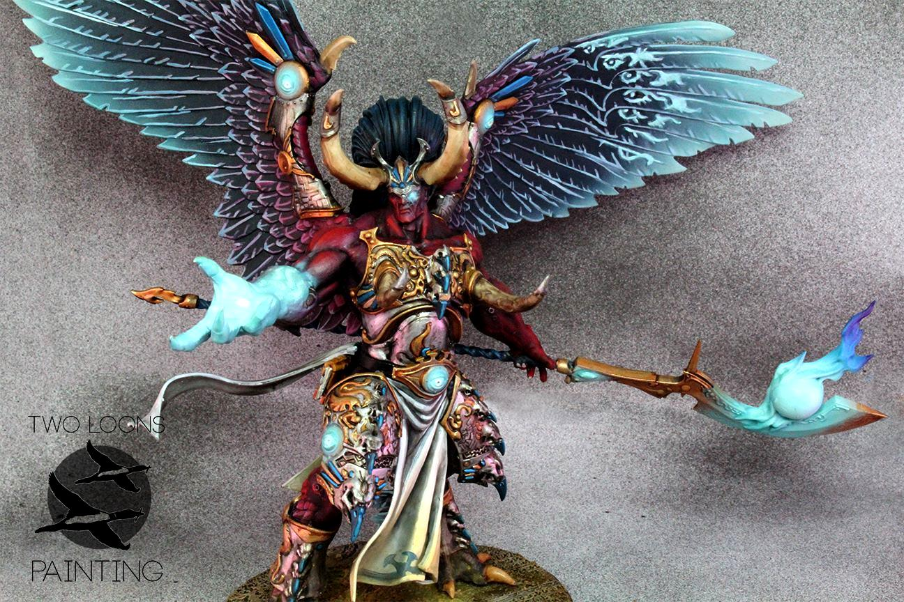 Daemons, Magnus The Red, Primarch, Pro-painted
