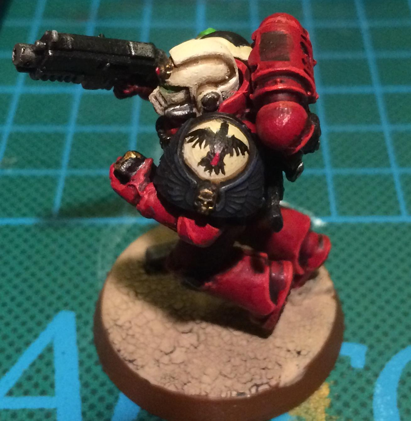 Art Scale, Blood Ravens, Conversion, Converting, Kitbash, Space Marines, Tactical Squad, True Scale, True-scale