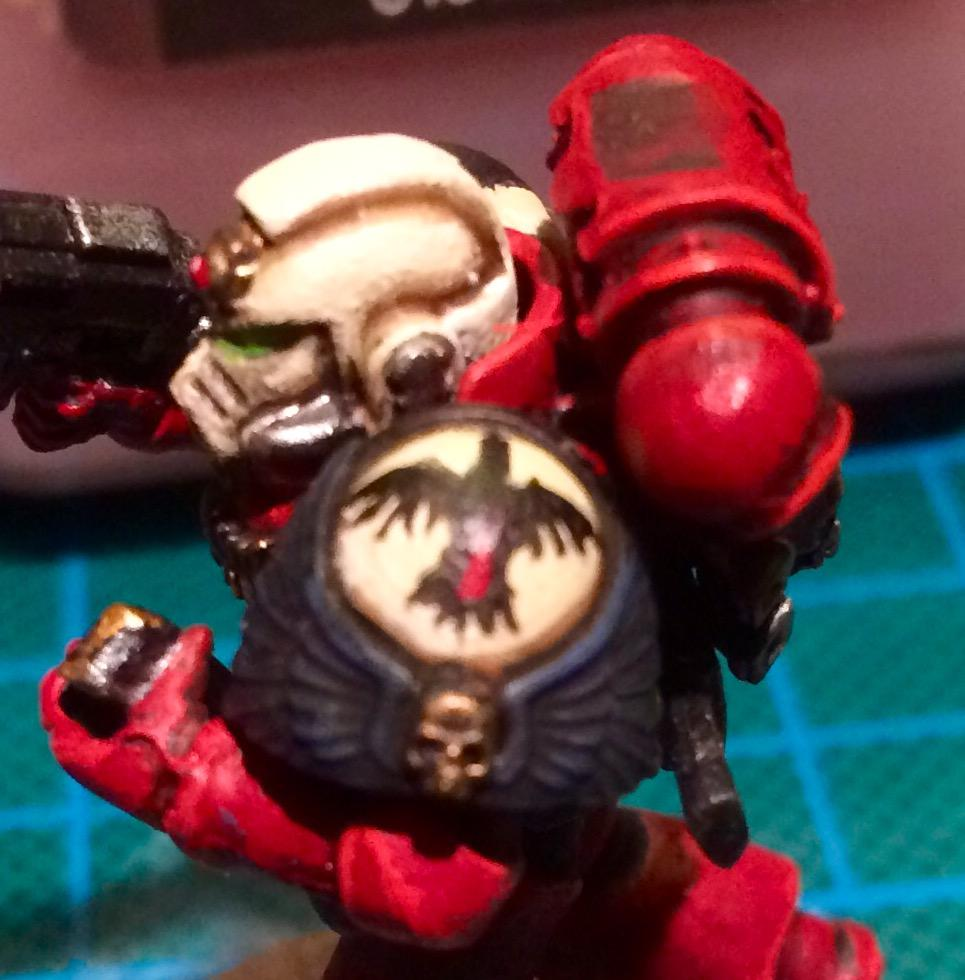 Art Scale, Blood Ravens, Conversion, Converting, Kitbash, Space Marines, True Scale, True-scale