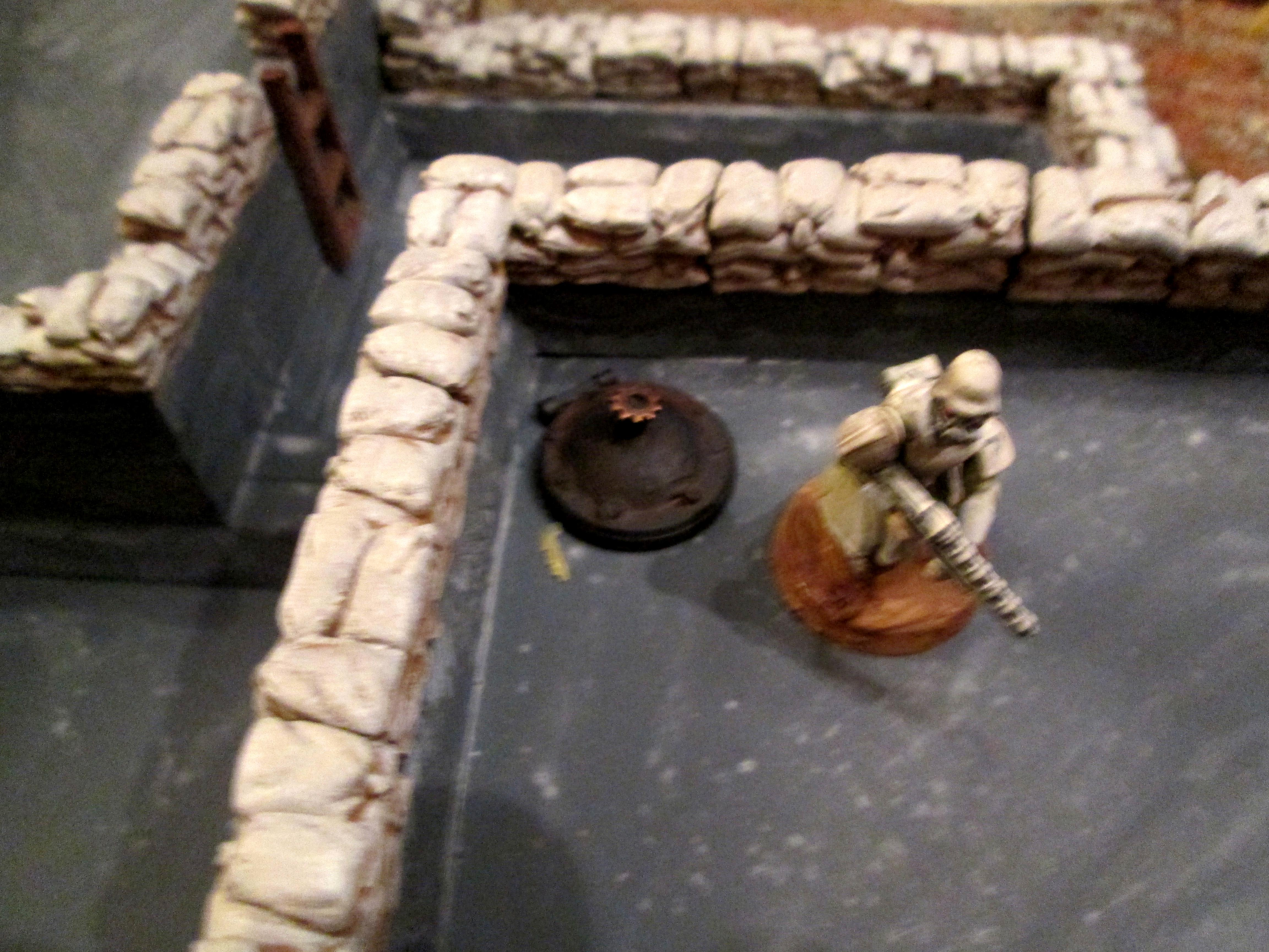 Hatches, Imperial Guard, Orks, Scratch Build