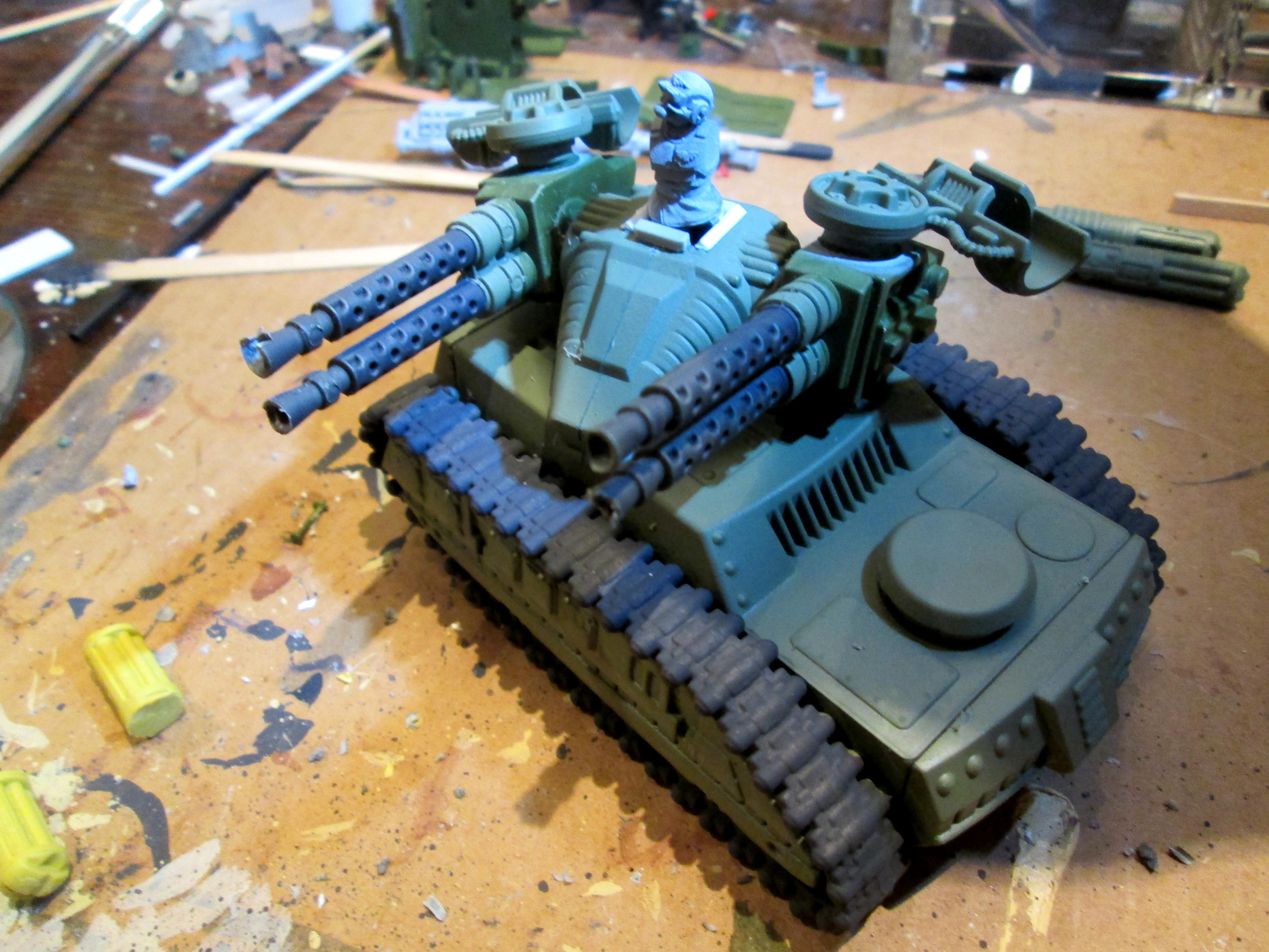 Apc, Bronekorpus, Conversion, Hydra, Imperial Guard, Tank