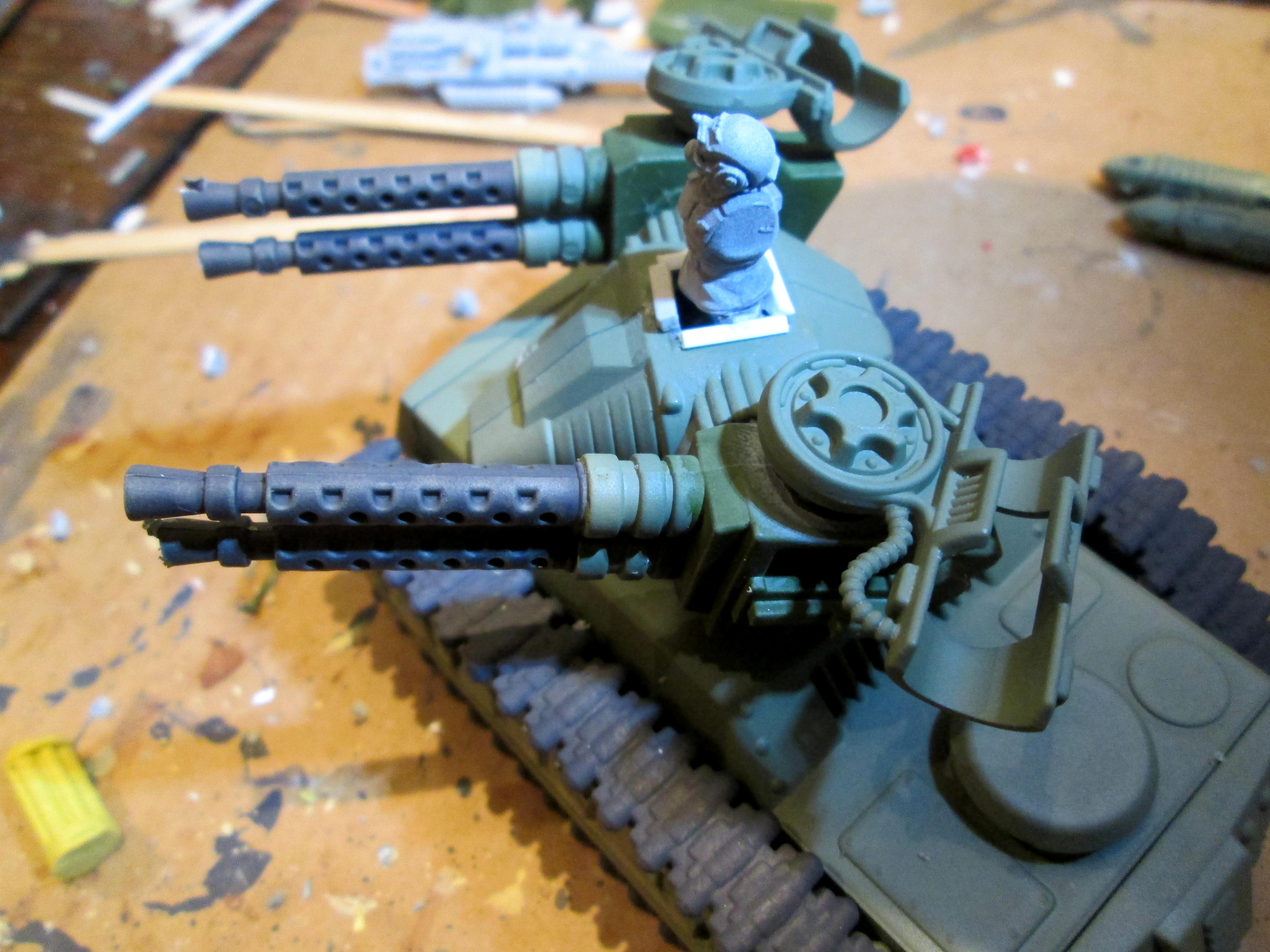 Bronekorpus, Conversion, Hydra, Imperial Guard, Tank