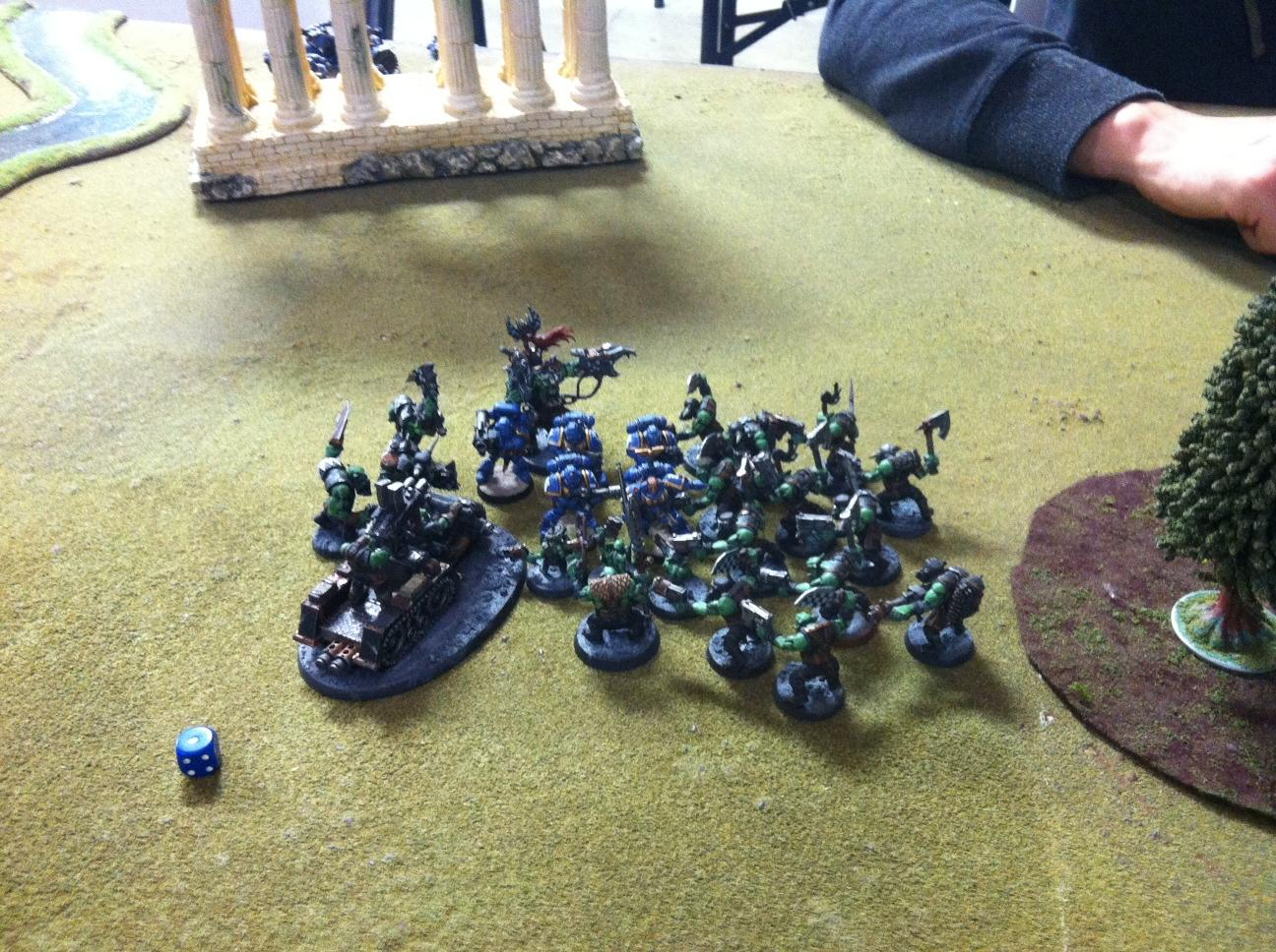 Battle For Vedros, Battle Report