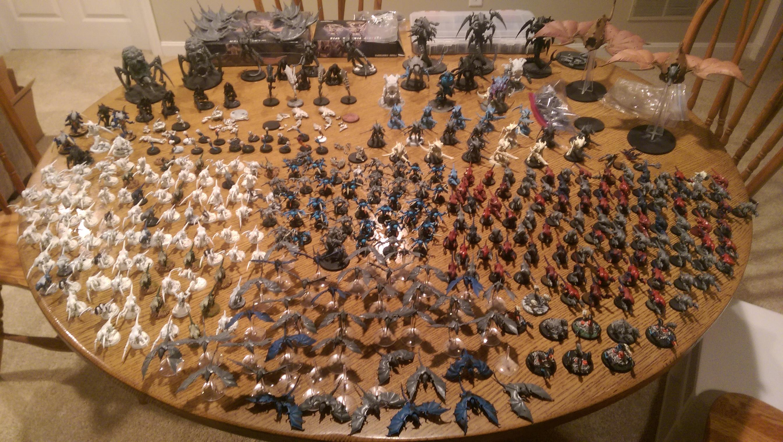 Nids, Tyranids, Entire Nid Army