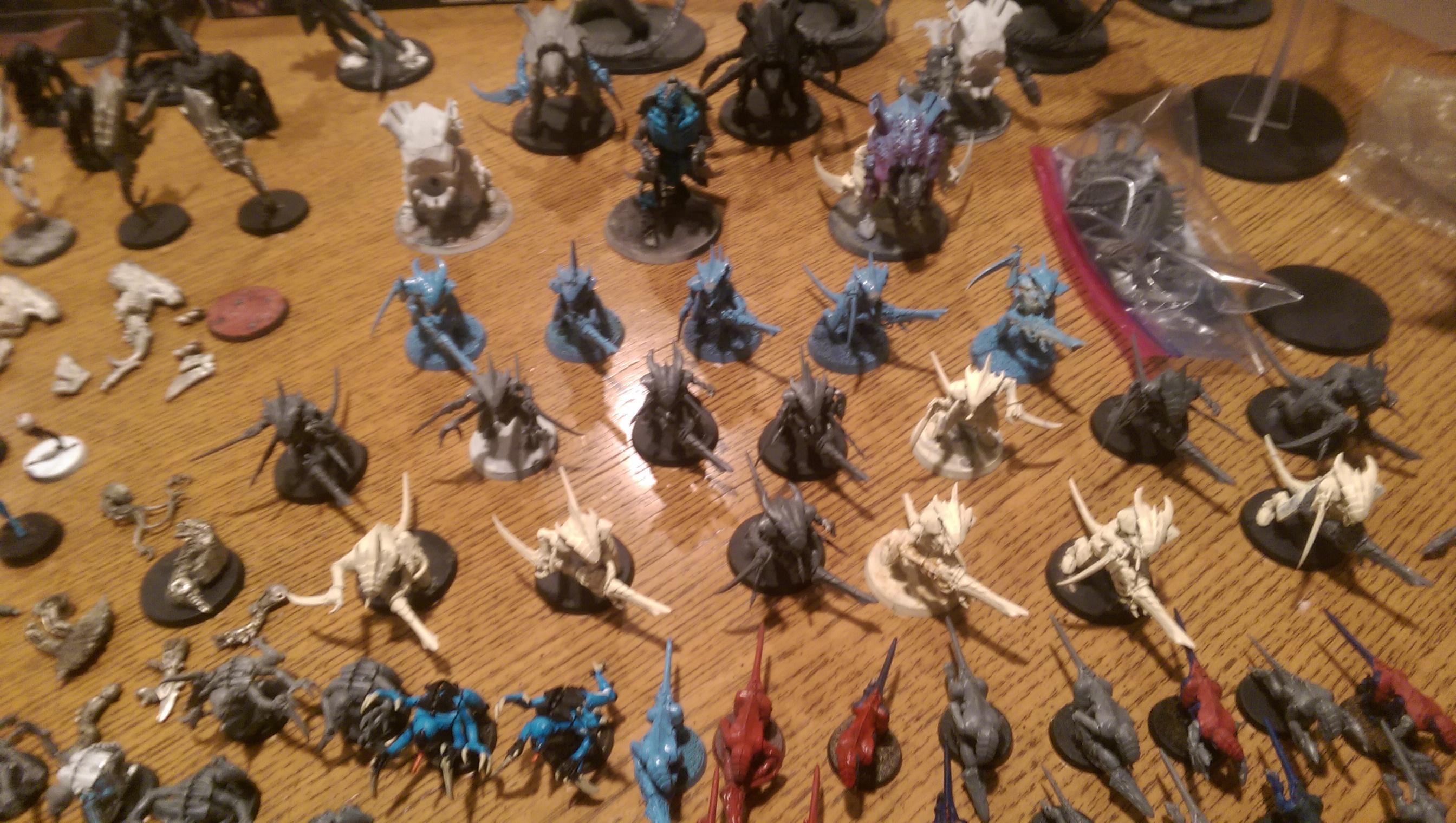 Nids, Tyranids, Warriors and Warrior Prime