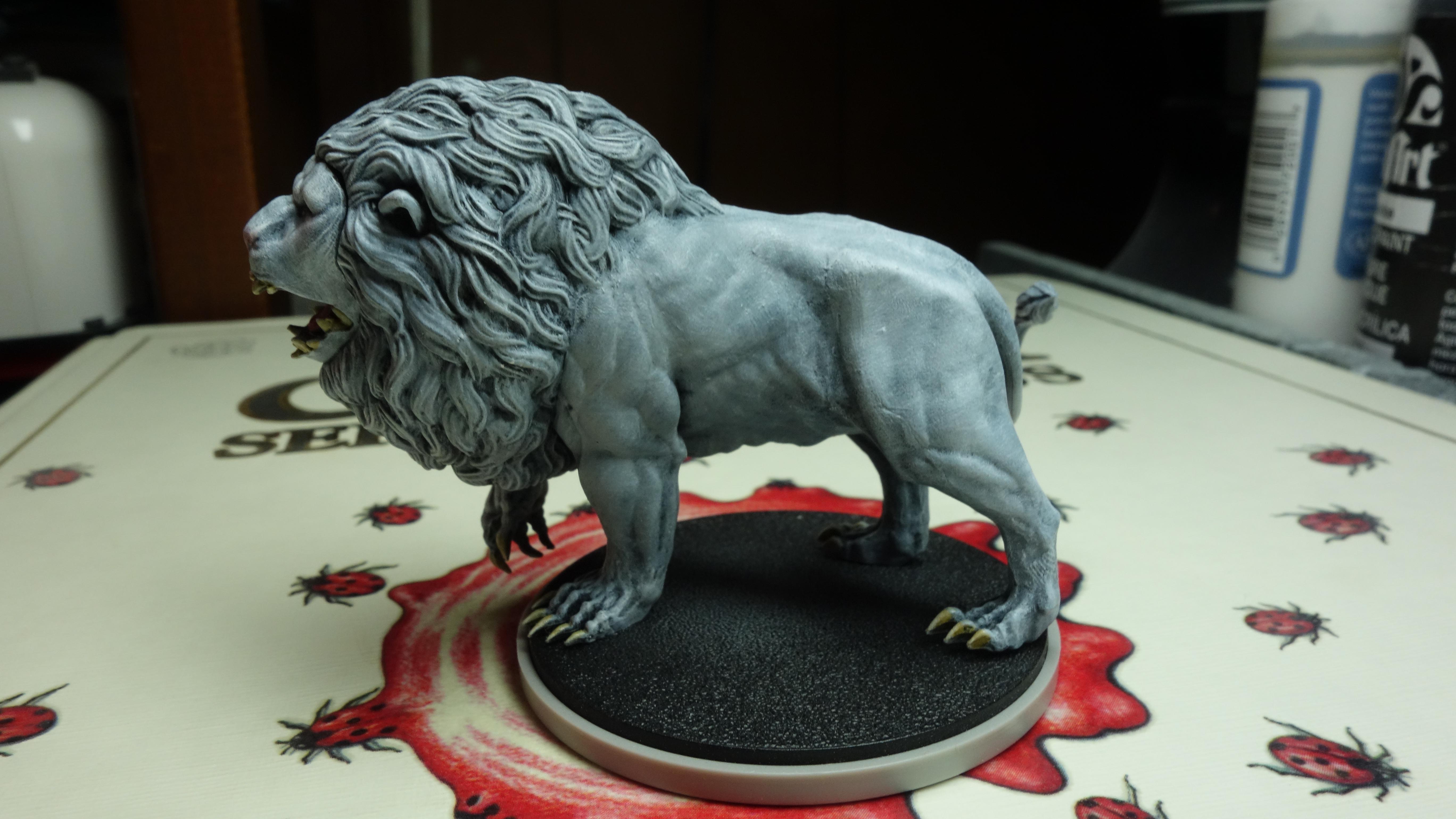 Animal, Kingdom Death, Lion, Monster