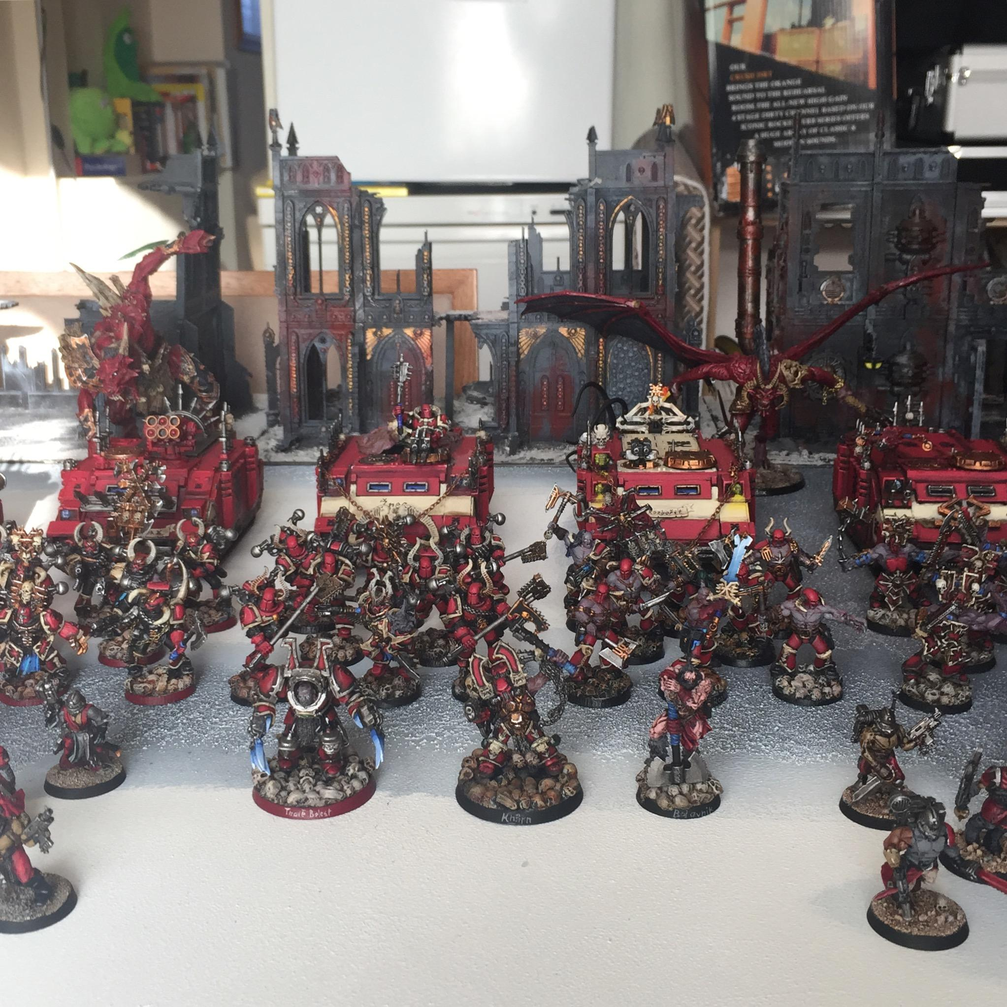 Army, Berserkers, Chaos Space Marines, Daemonkin, Khorne, Warhammer 40,000, World Eaters