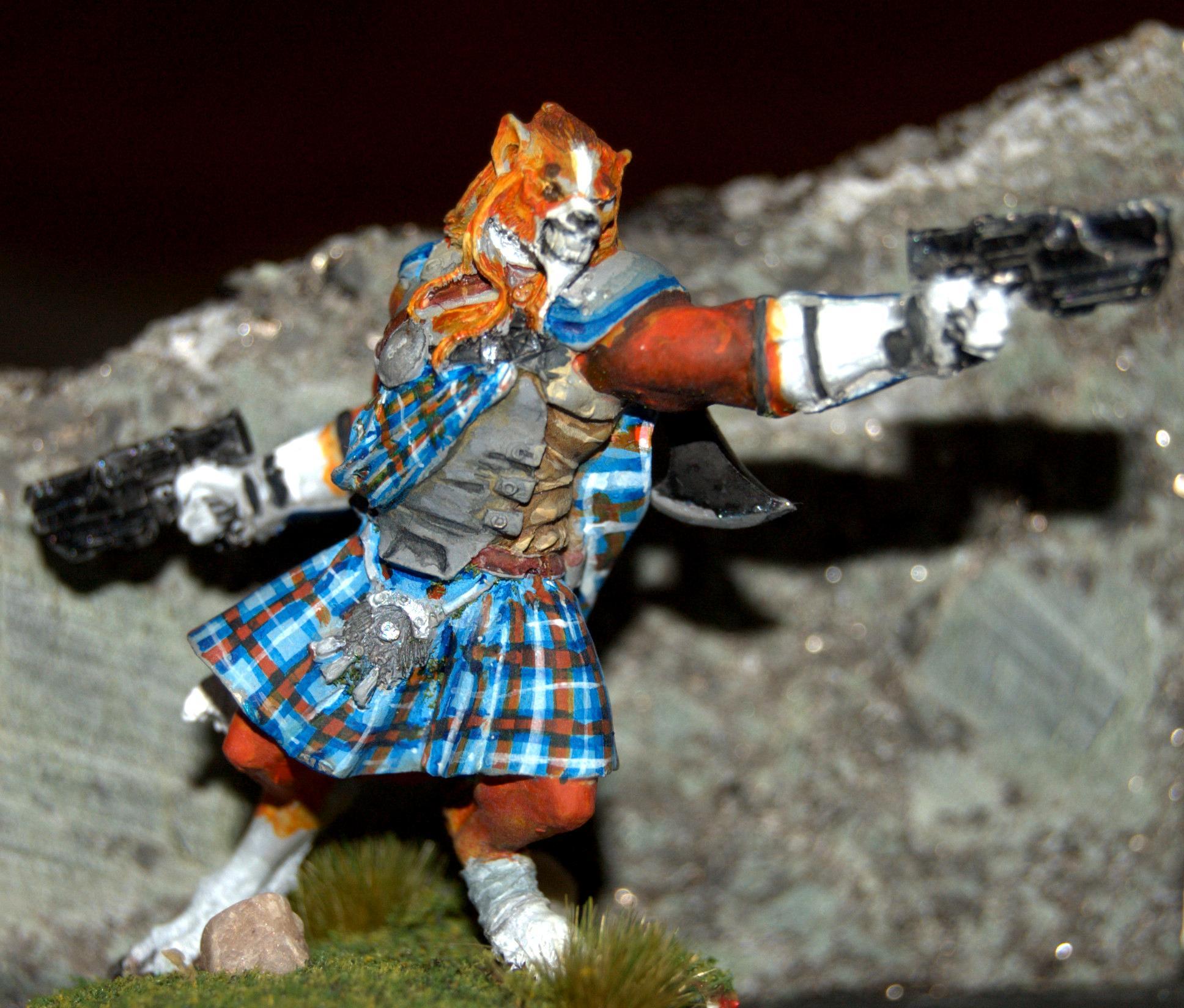 Ariadna, Dog Warrior, Infinity