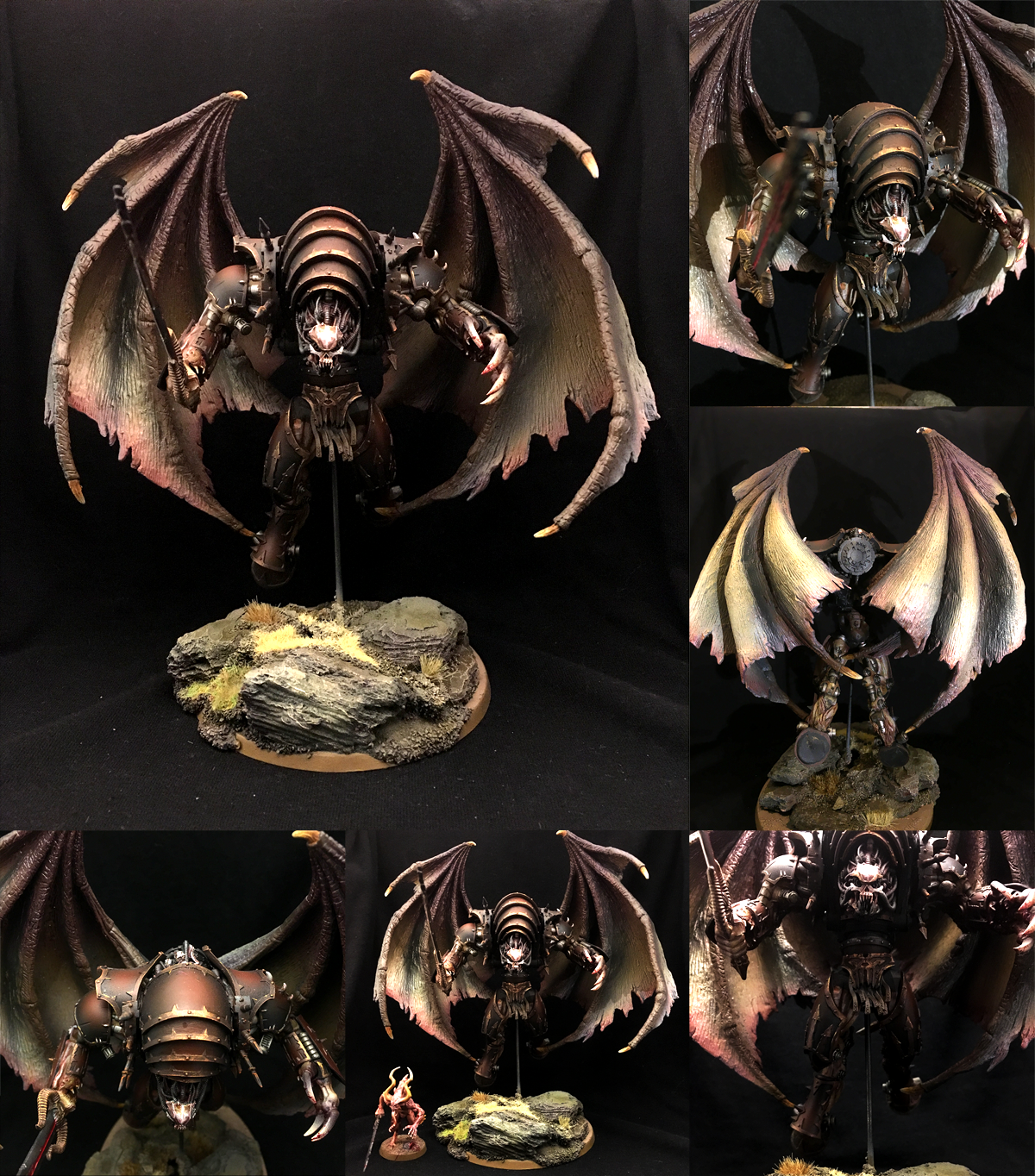 Bloodthirster, Chaos, Chaos Daemons, Chaos Space Marines, Custom