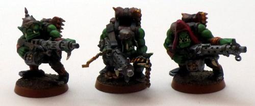 Captain Brown, Gretchin, Ork Shootas, Orks, Waaagh