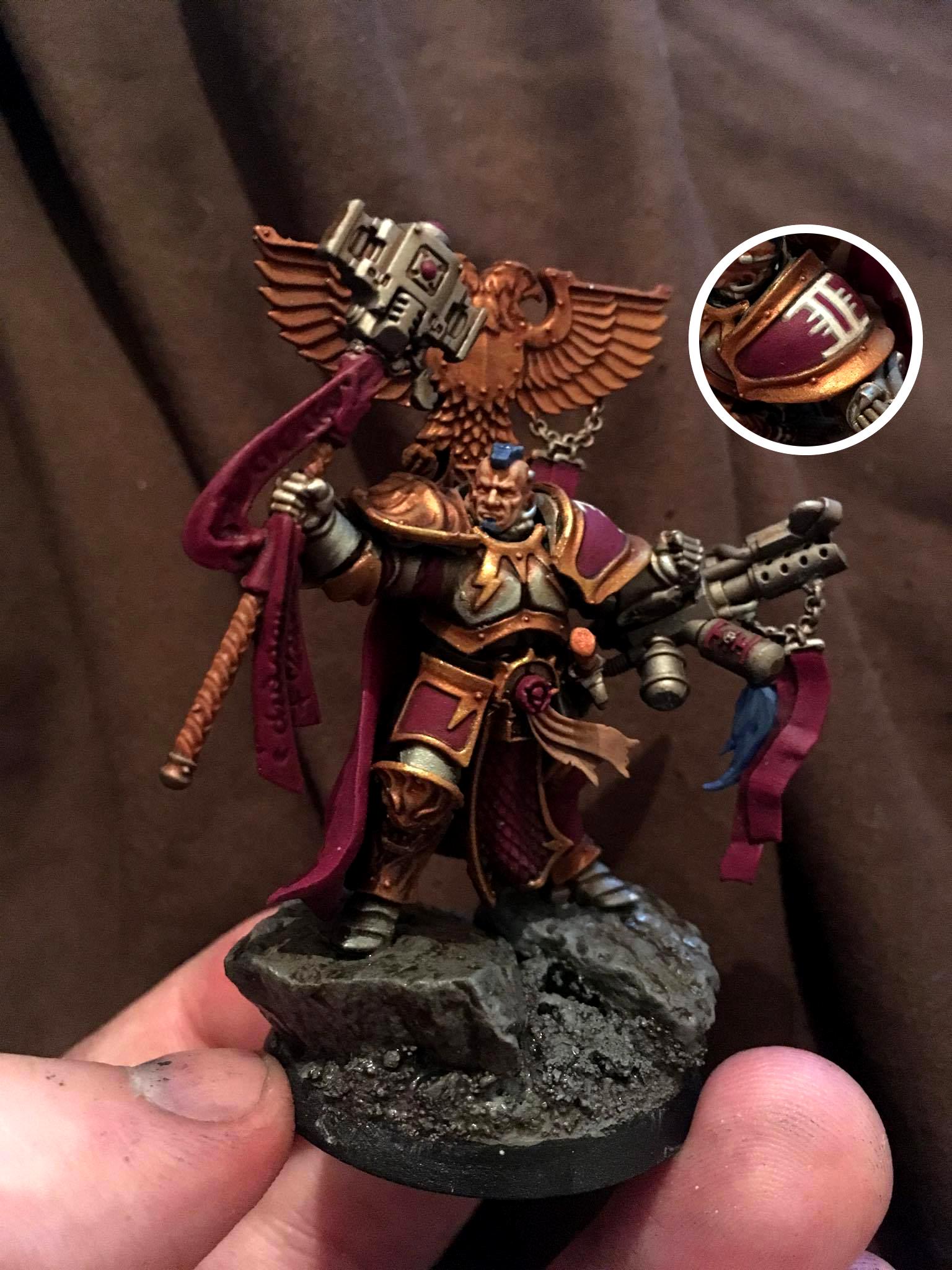 Inquisition, Inquisitor, Nemesis Daemon Hammer, Ordo Malleus, Terminator Armor, Warhammer 40,000
