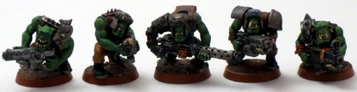 Captain Brown, Gretchin, Ork Shoota Boyz, Orks, Waaagh