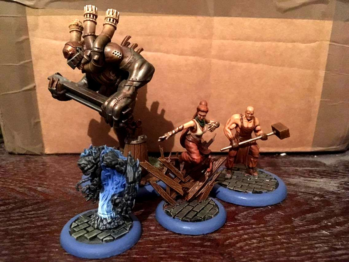 Arcanists, Malifaux, Outcasts, Ten Thunders
