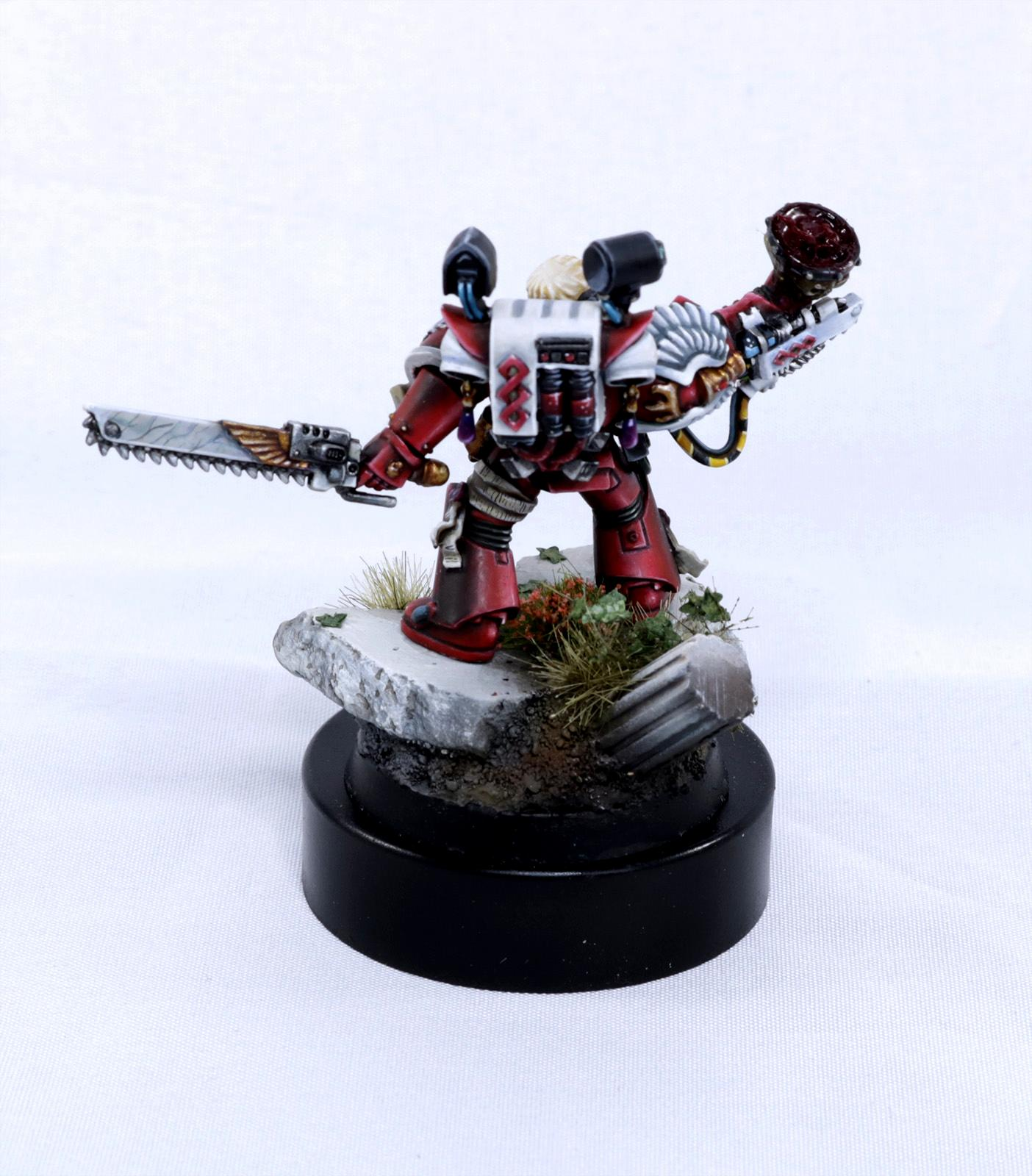 Apothecary, Blood Angels, Corbulo, Power Armor, Space Marines