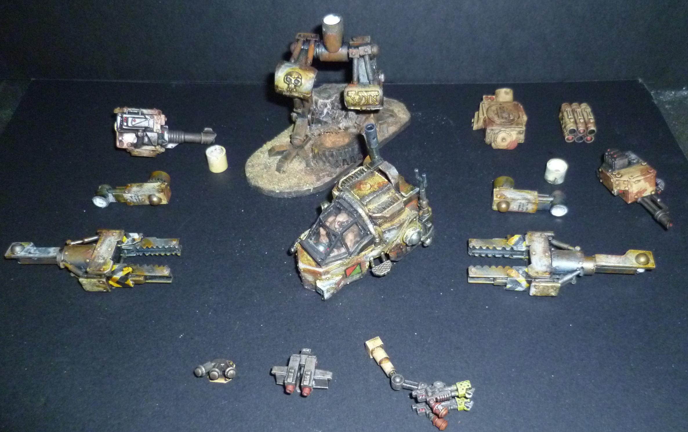 Hvy Sentinel parts