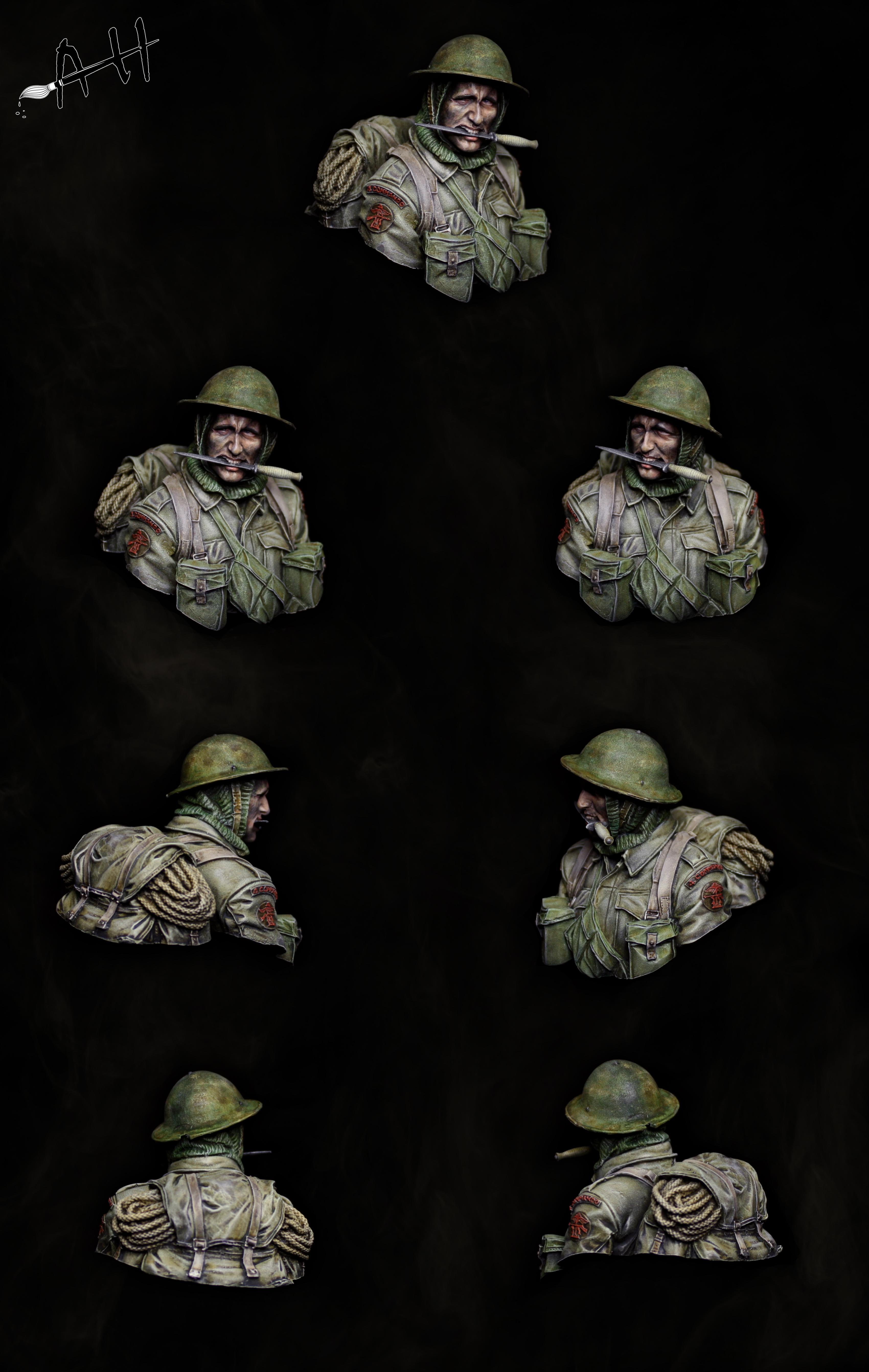 British, Bust, Commando, War, World