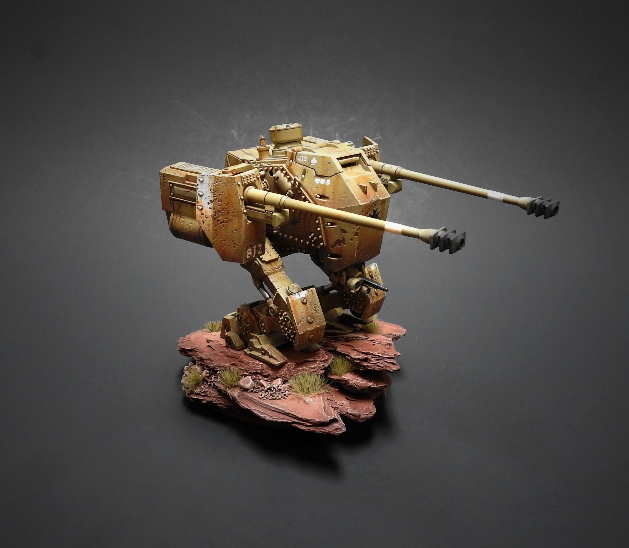 Airbrush, Axis, Dust, Dust Tactics, Painting, Tank, Vehicle, Walkers, Weathered, Weird War Ii, World War 2