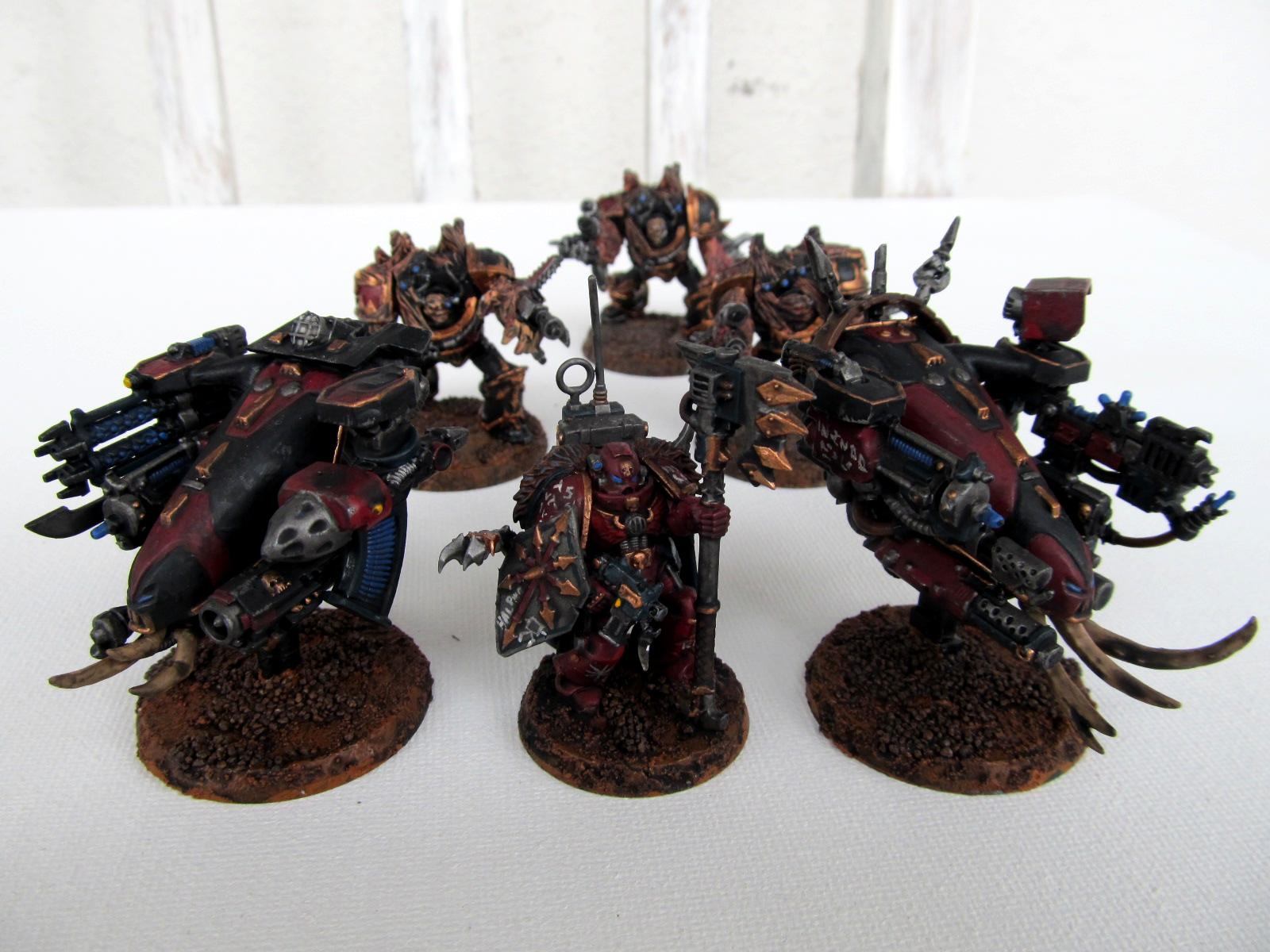 Chaos, Chaos Space Marines, Drone, Heretix, Obliterators, Sons Of Halphas, Warhammer 40,000, Warpsmith