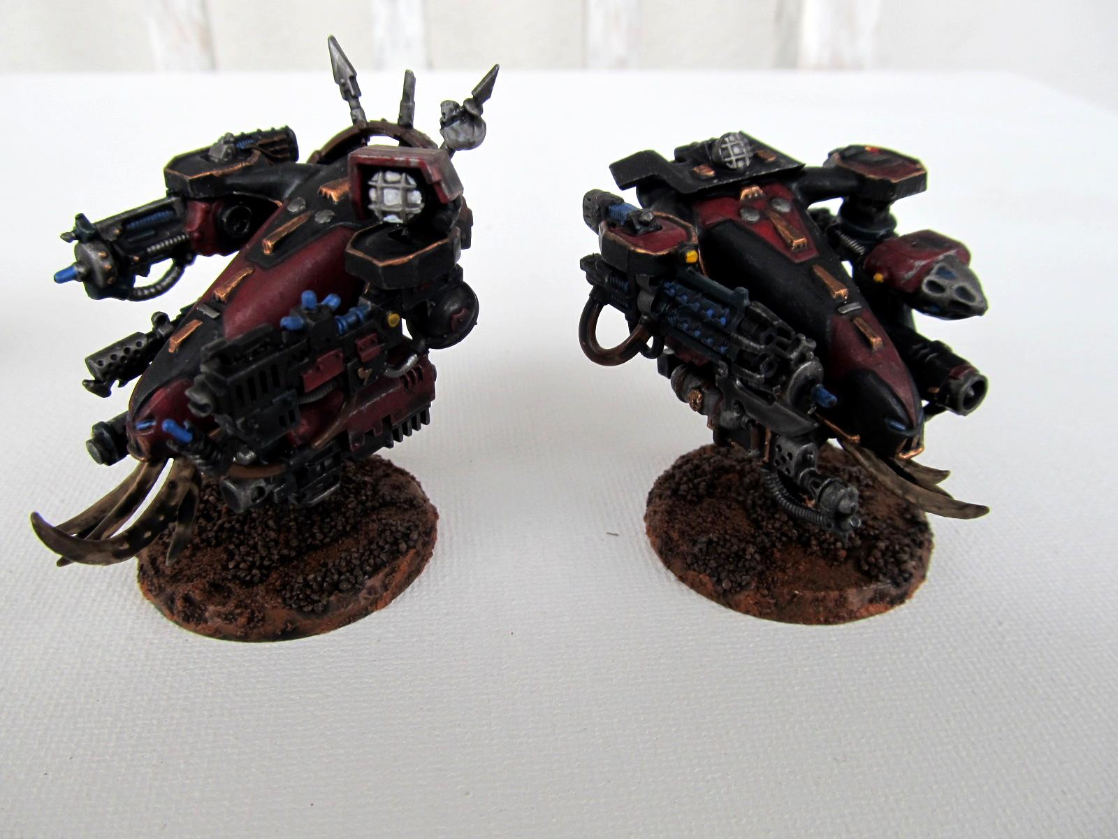 Chaos, Chaos Space Marines, Heretix, Obliterators, Sons Of Halphas, Warhammer 40,000