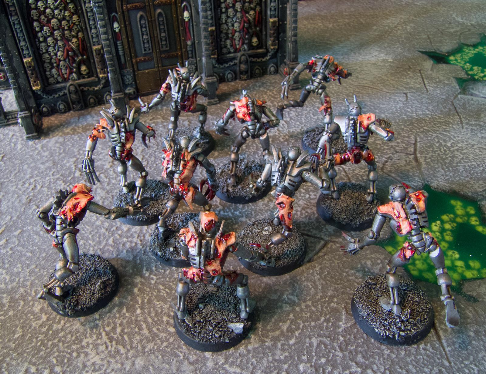 Conversion, Flayed Ones, Necrons, Ouze