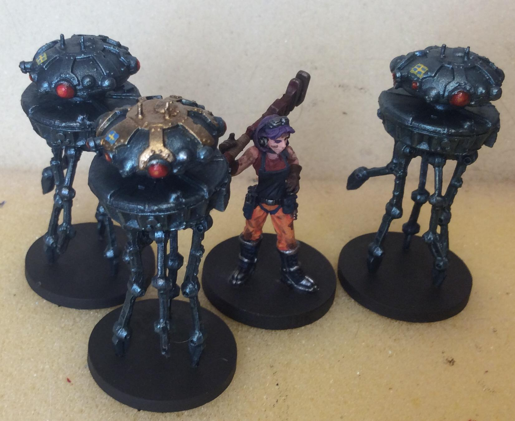 Freehand, Galactic Empire, Imperial Probe Droid, Looted, Star Wars, Sweden