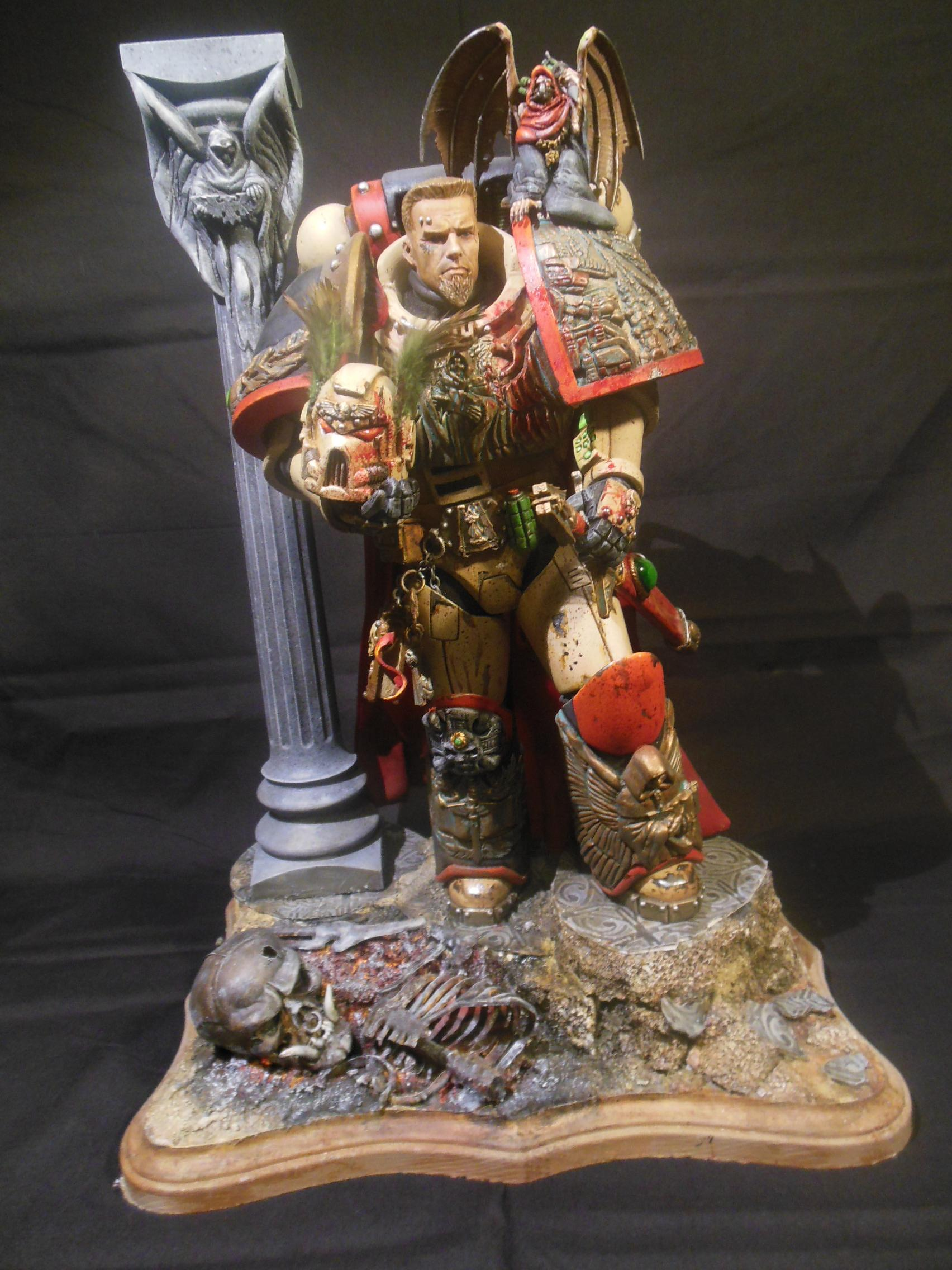 12 Inch, Action Figure, Custom, Doll, Giant, Large, Scratch Build, Space Marines