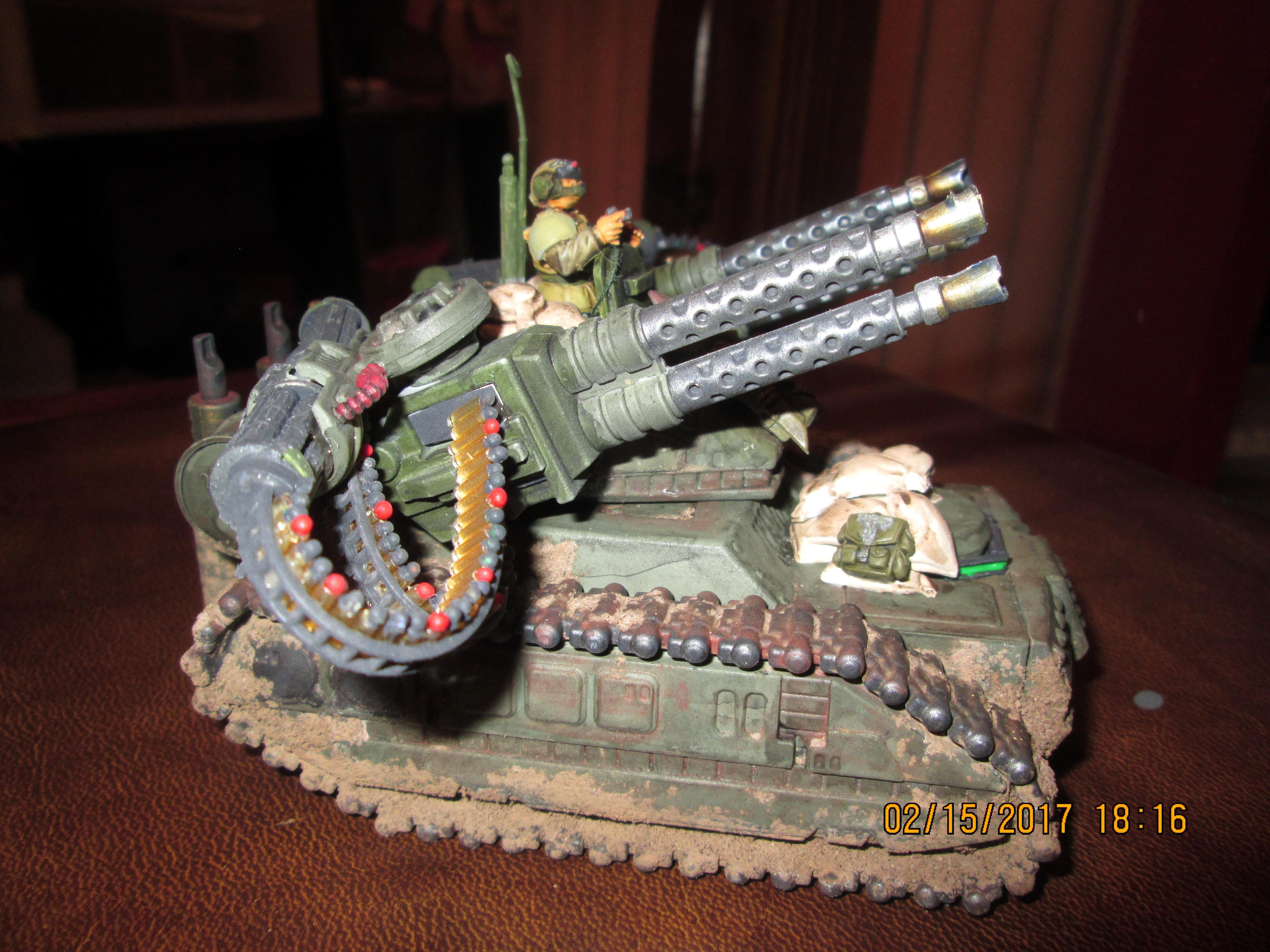 Bronekorpus, Conversion, Flak Panzer, Hydra, Imperial Guard, Robogear, Tank