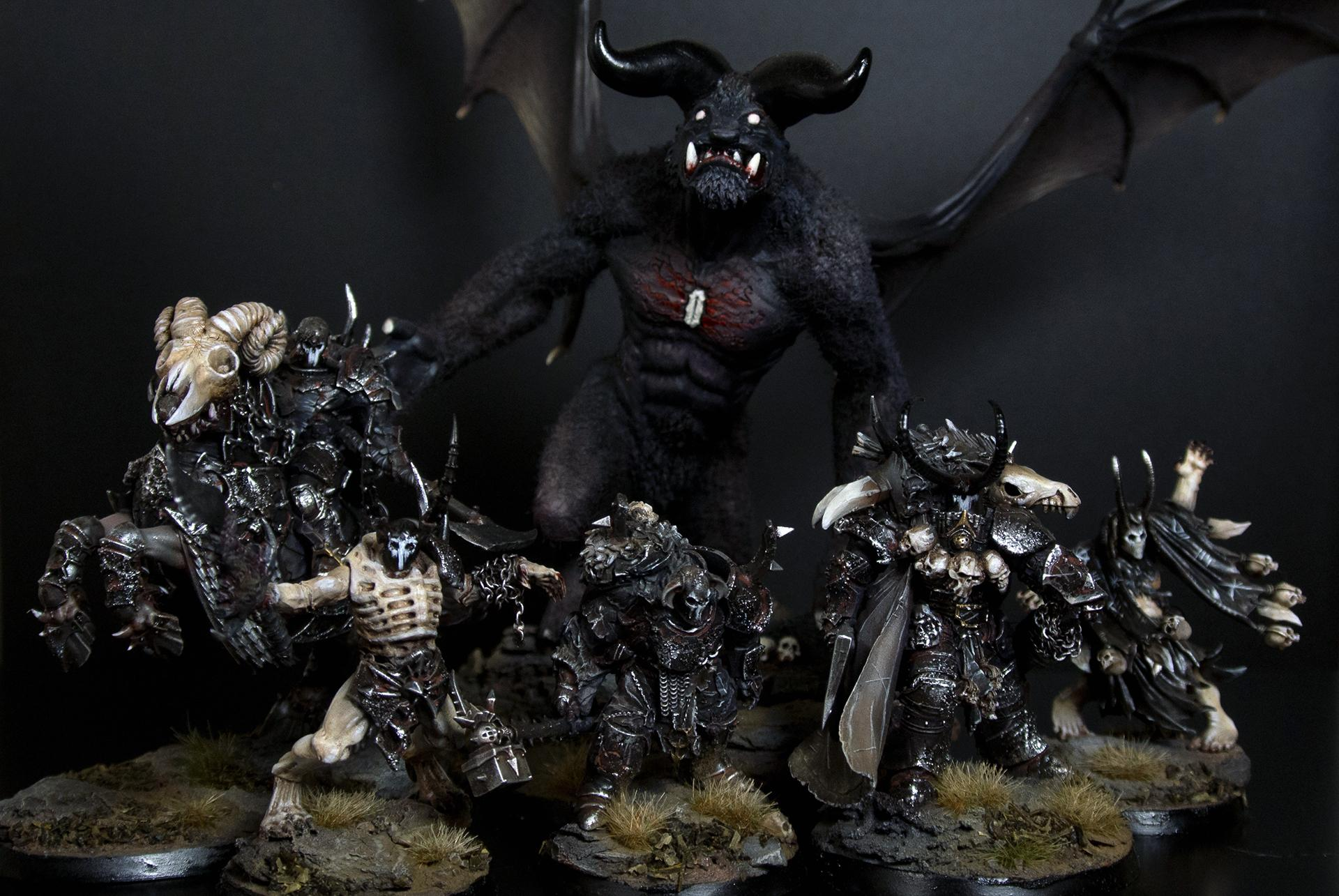 Age Of Sigmar, Chaos, Chosen, Conversion, Daemon Prince, Malal
