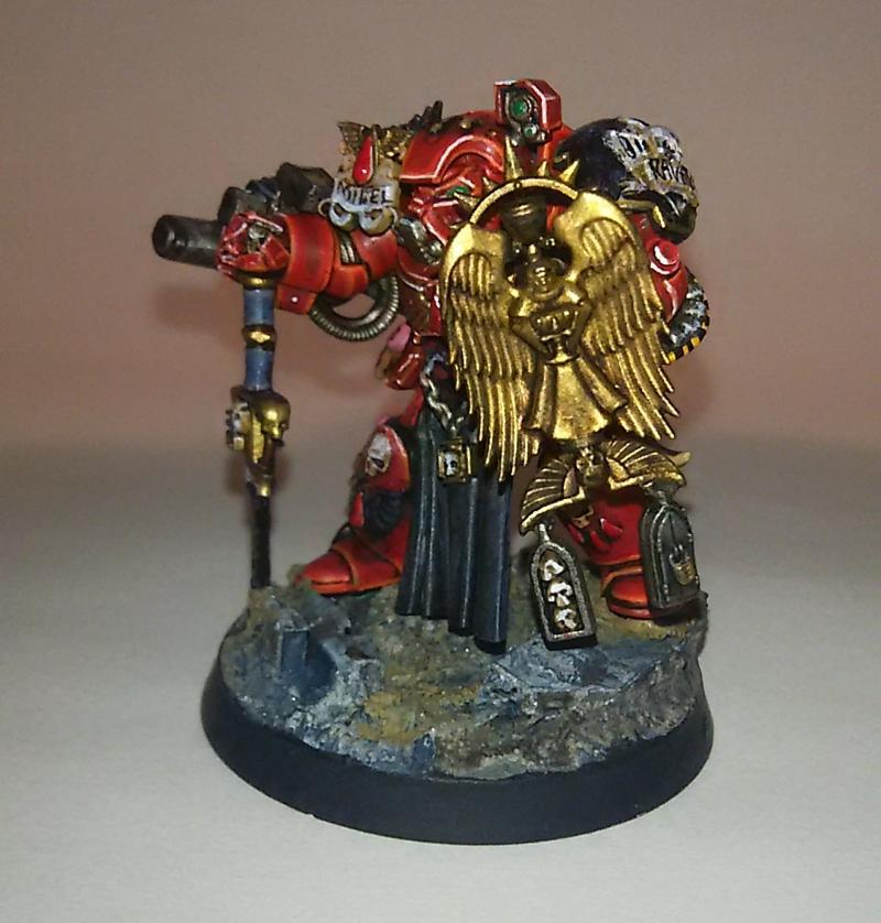 Blood Angels, Storm Shield, Terminator Armor